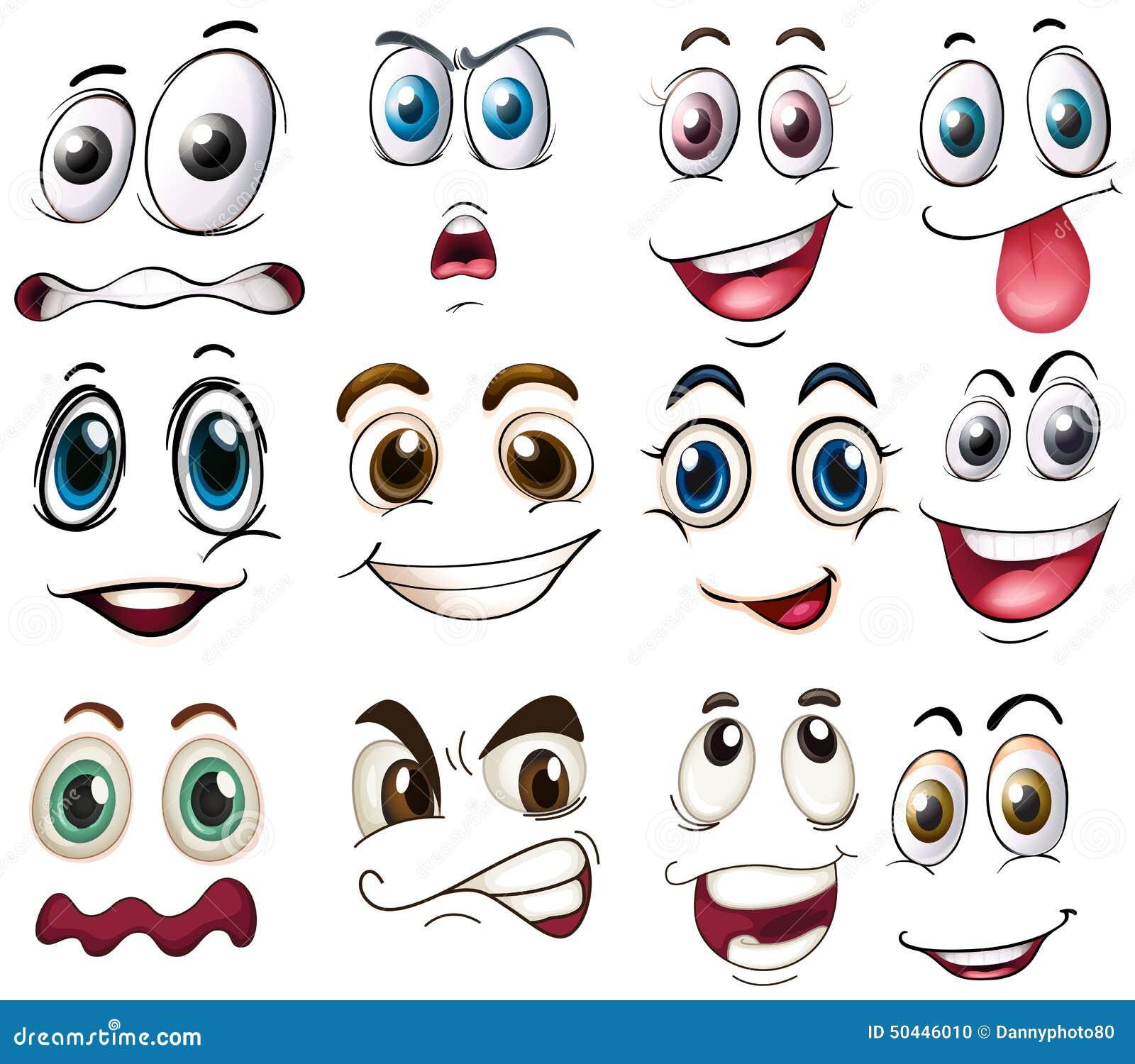 Как сделать смеющийся глаза