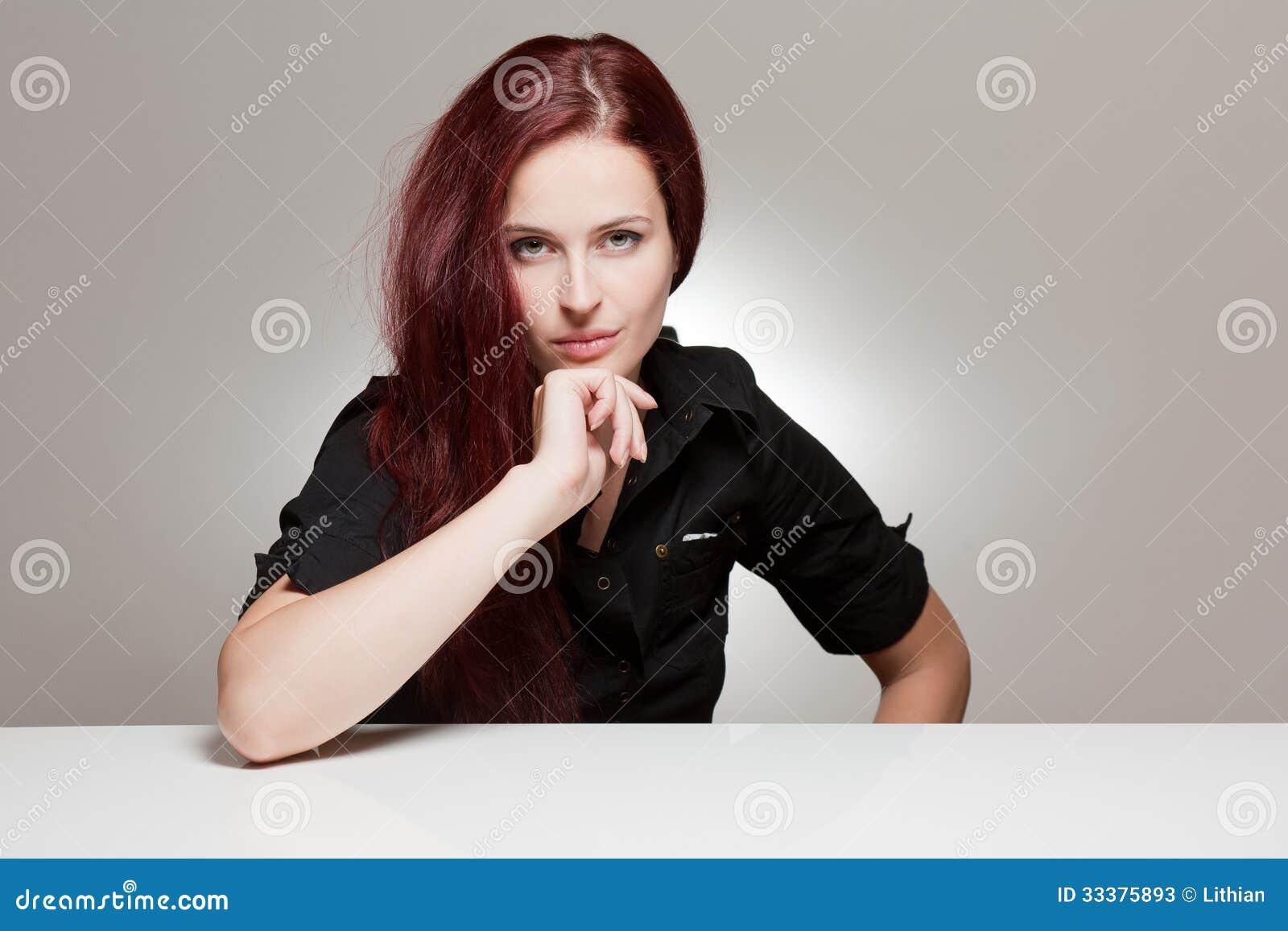 Expressive Young Woman Stock Photos Image 33375893