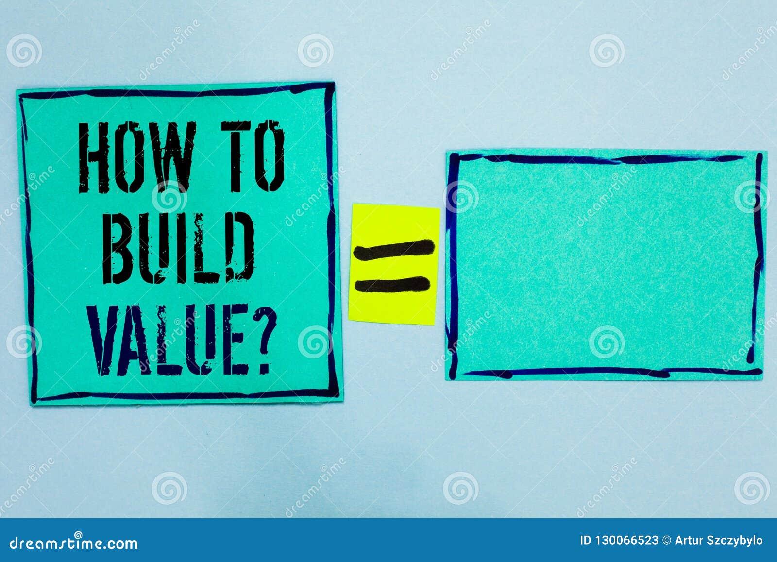 Exprimez le texte d écriture comment établir la question de valeur Concept d affaires pour des manières pour développer l élevage