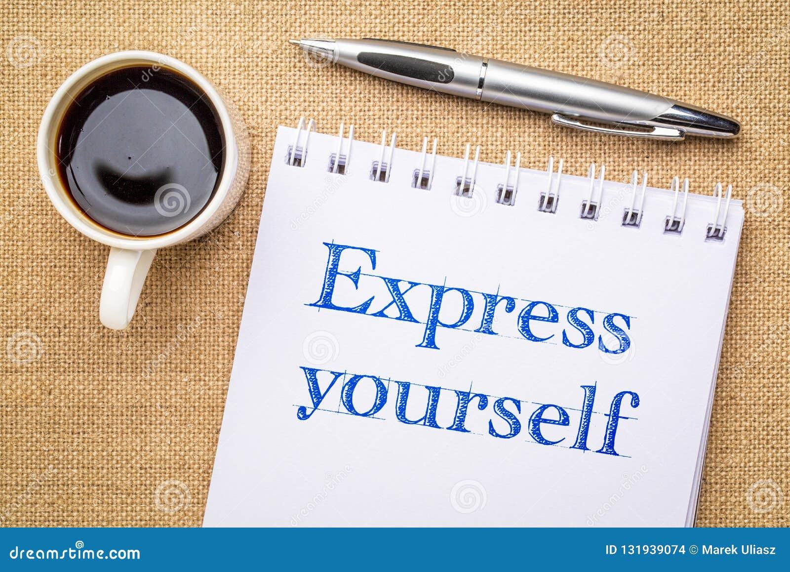 Exprimez-vous écriture d inspiraitonal