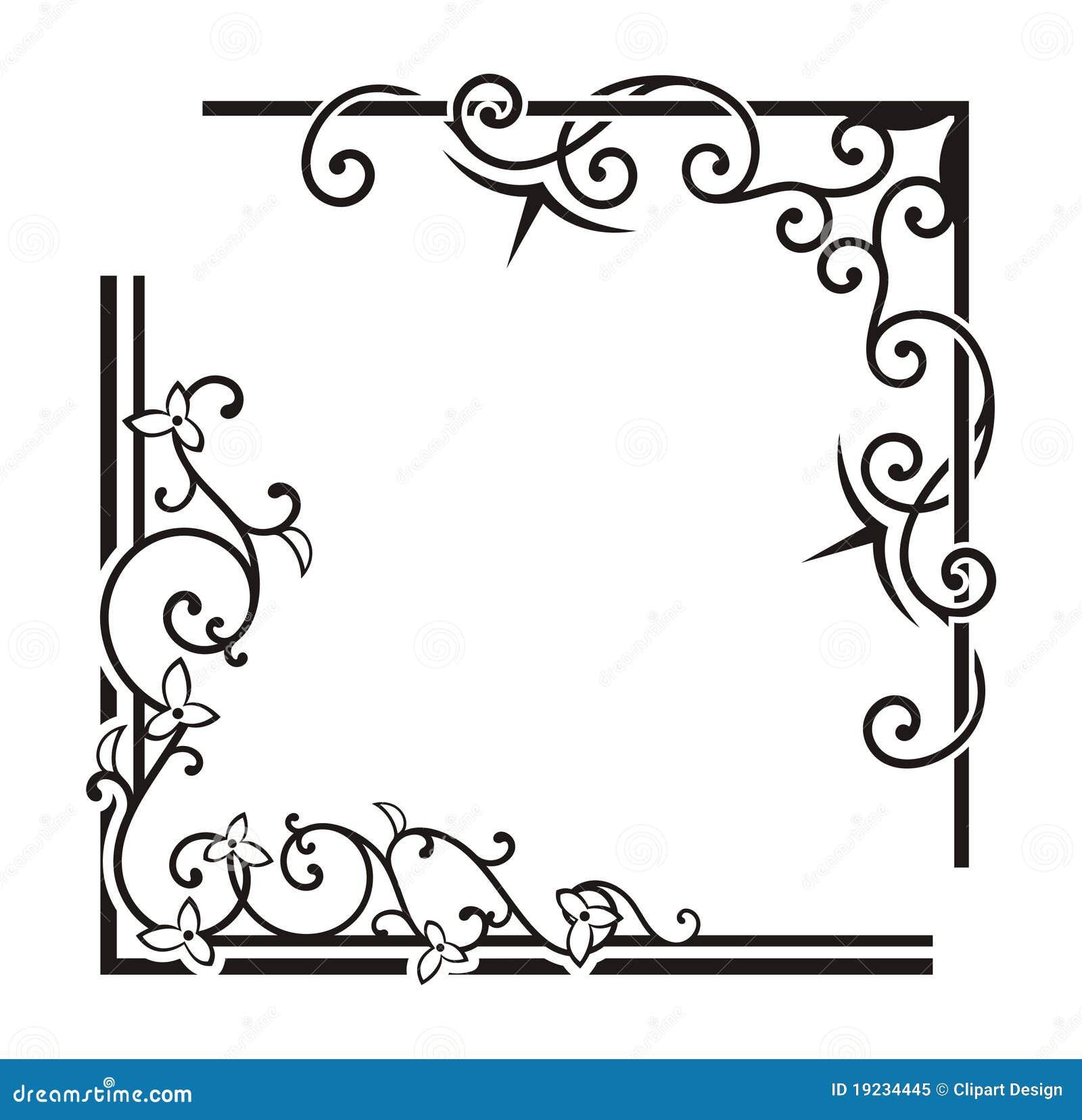 Calligraphy Corner Designs Pixshark Images