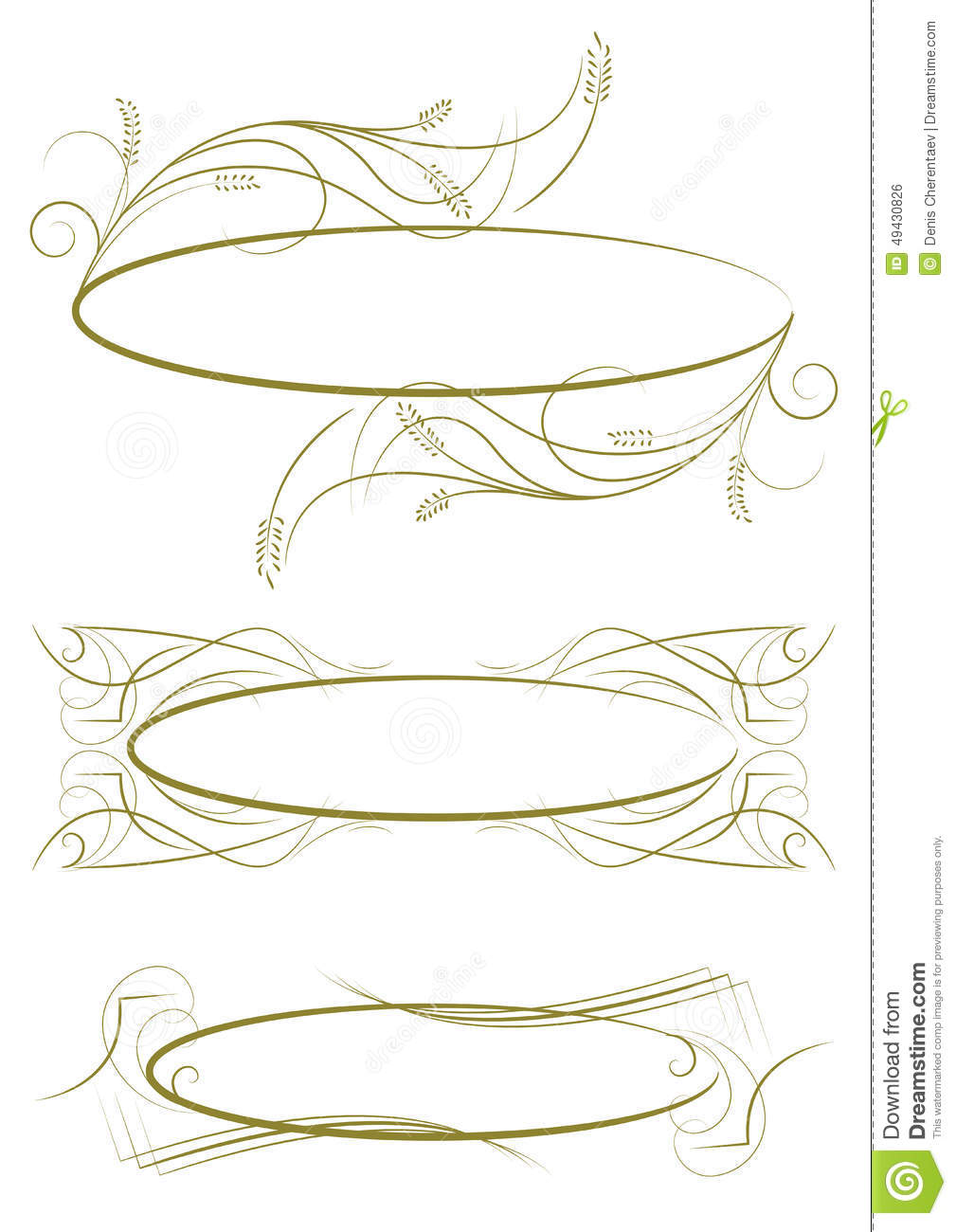 Exquisite Ornamental And Page Decoration Designs