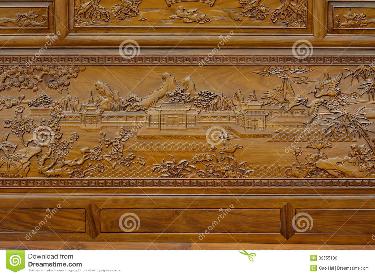 exquisite sculpture on wooden furniture in chinese traditional style furniture in style