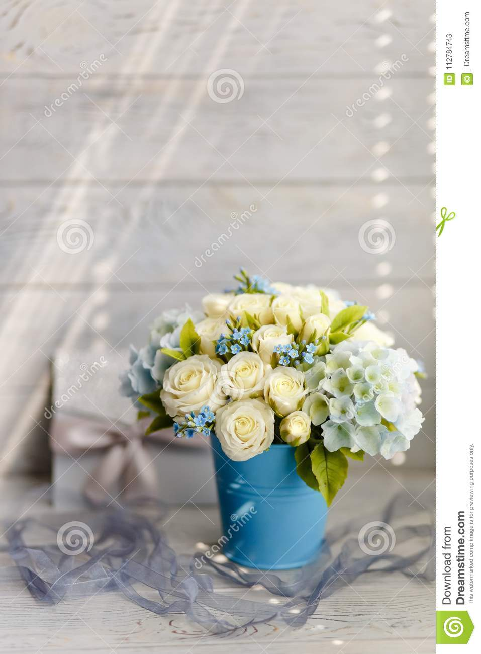 Blue and white wedding flowers stock image image of desserts download blue and white wedding flowers stock image image of desserts candle izmirmasajfo