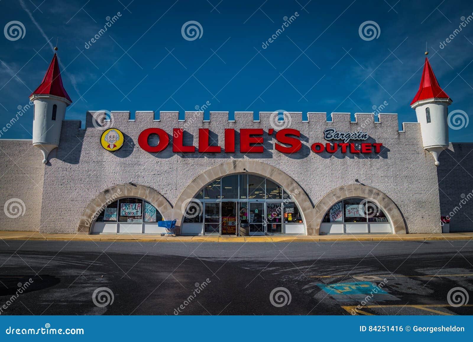 Extérieur d emplacement de débouché d affaire d Ollies