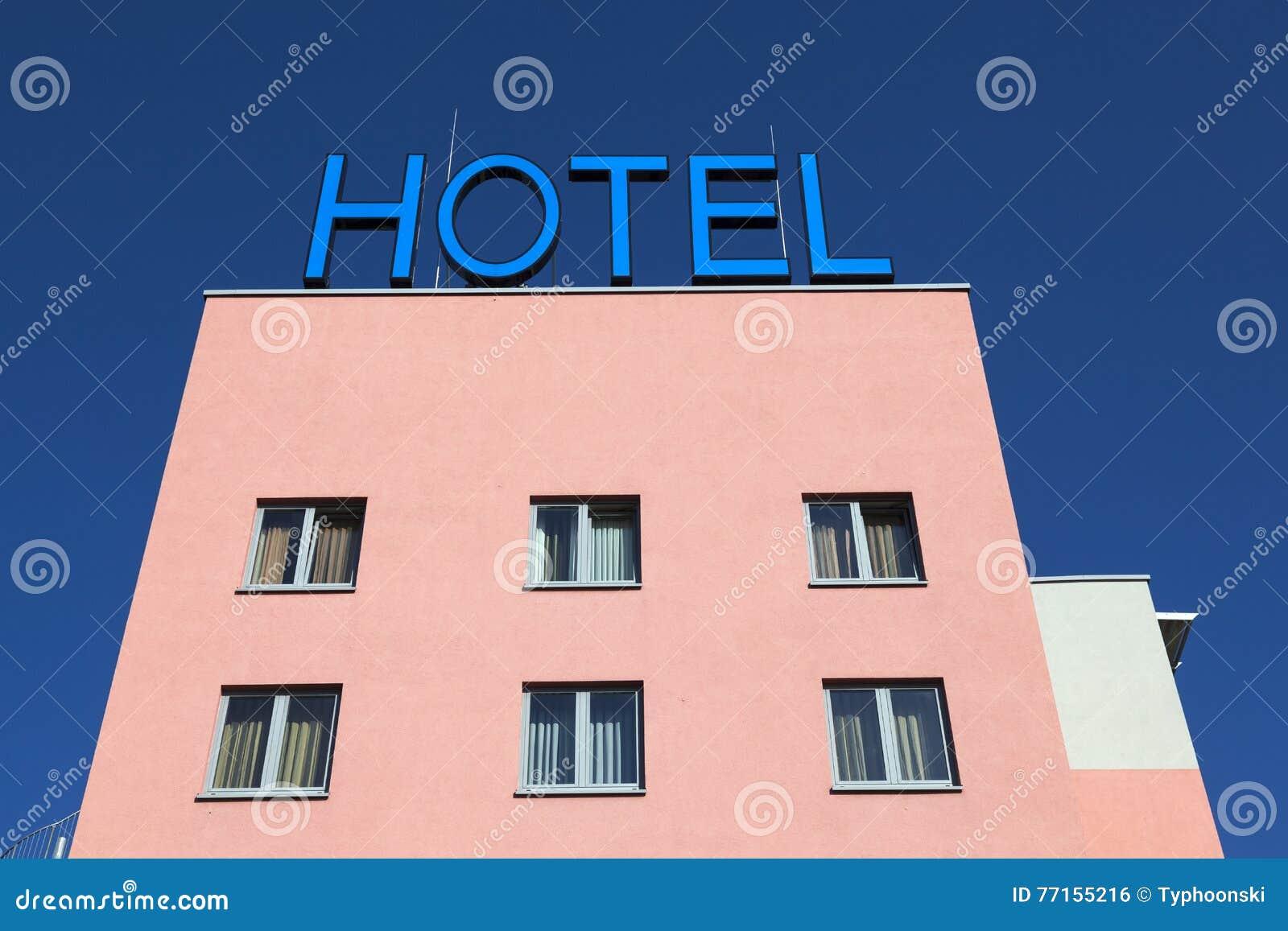 Extérieur d un bâtiment d hôtel