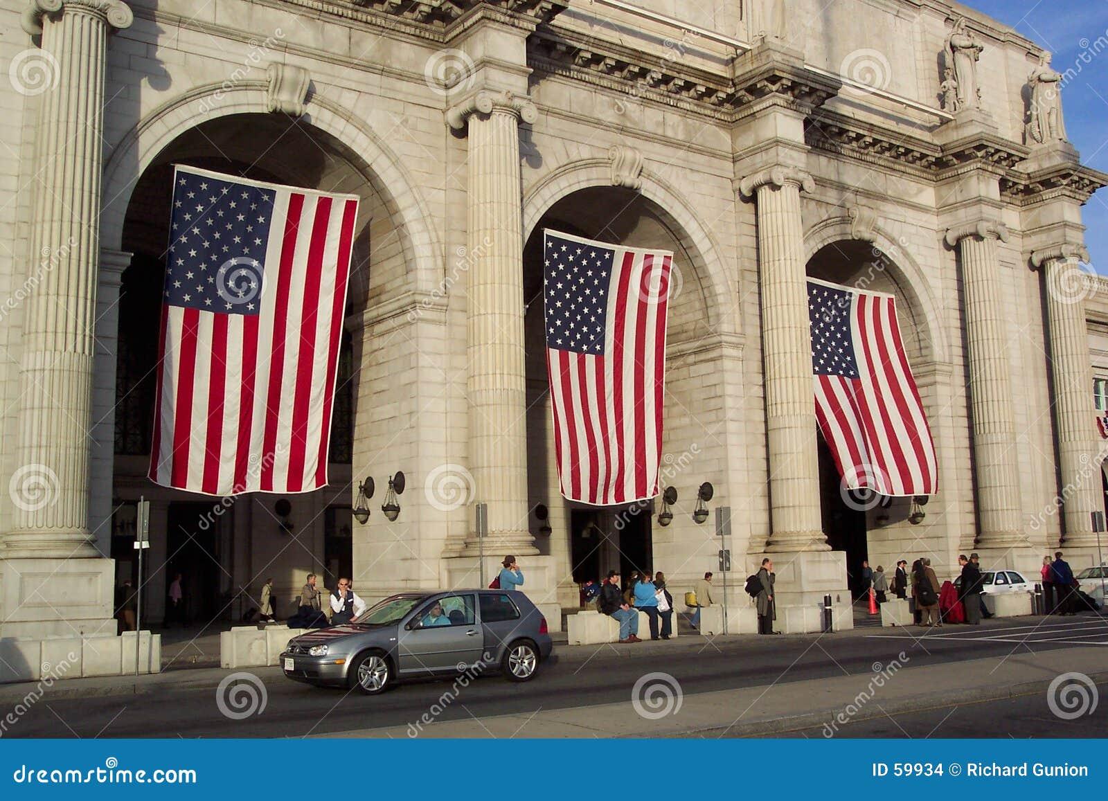 Download Extérieur De Gare Des Syndicats Photo stock - Image du président, états: 59934