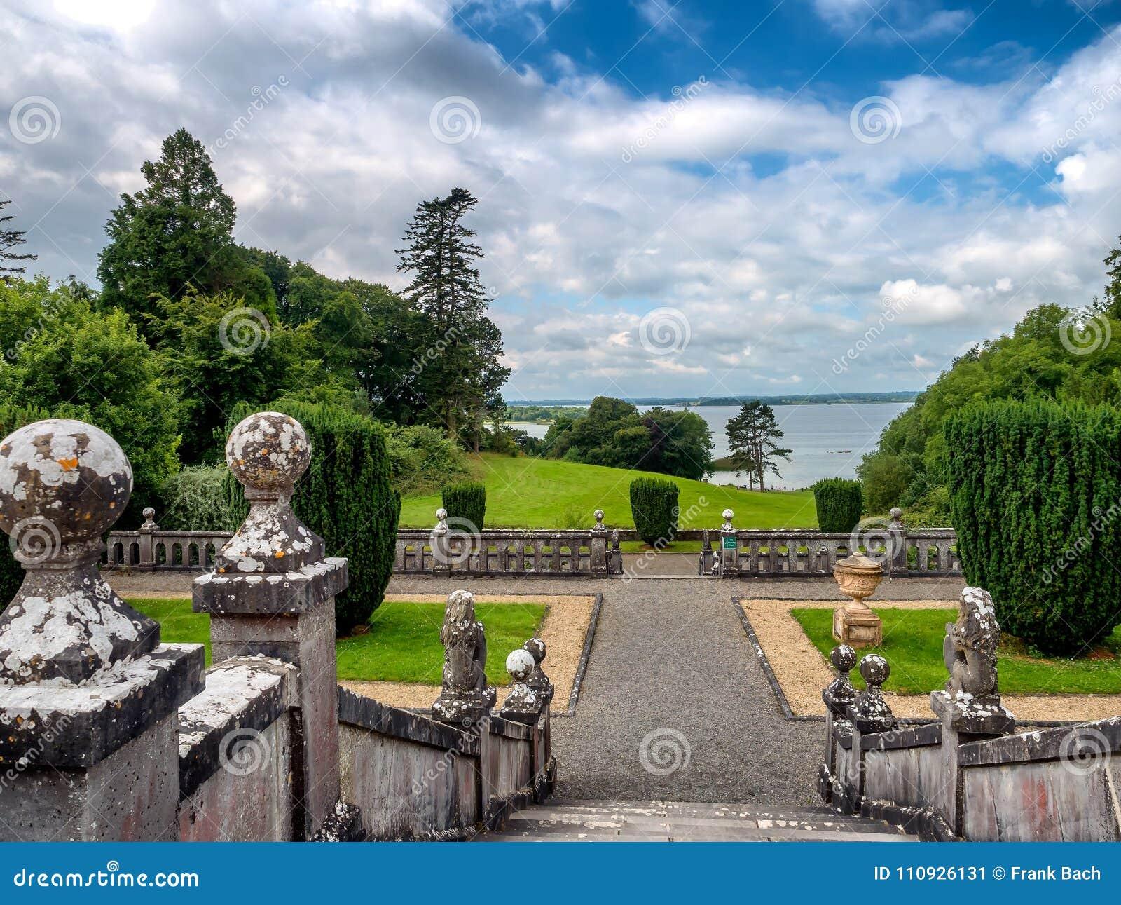 Extérieur de maison de belvédère, Irlande