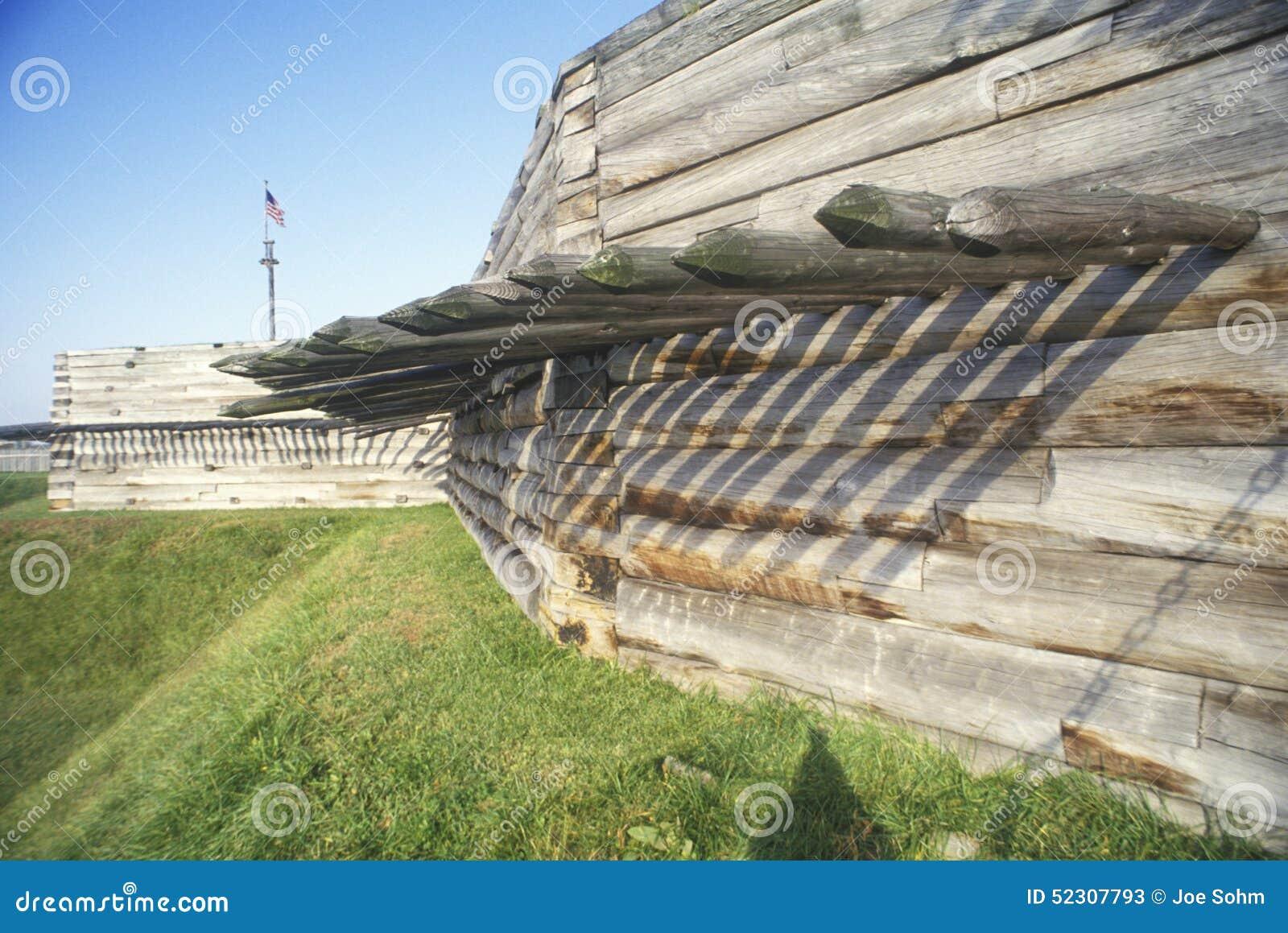 Ext rieur de monument national de stanwix de fort rome ny for Exterieur stock