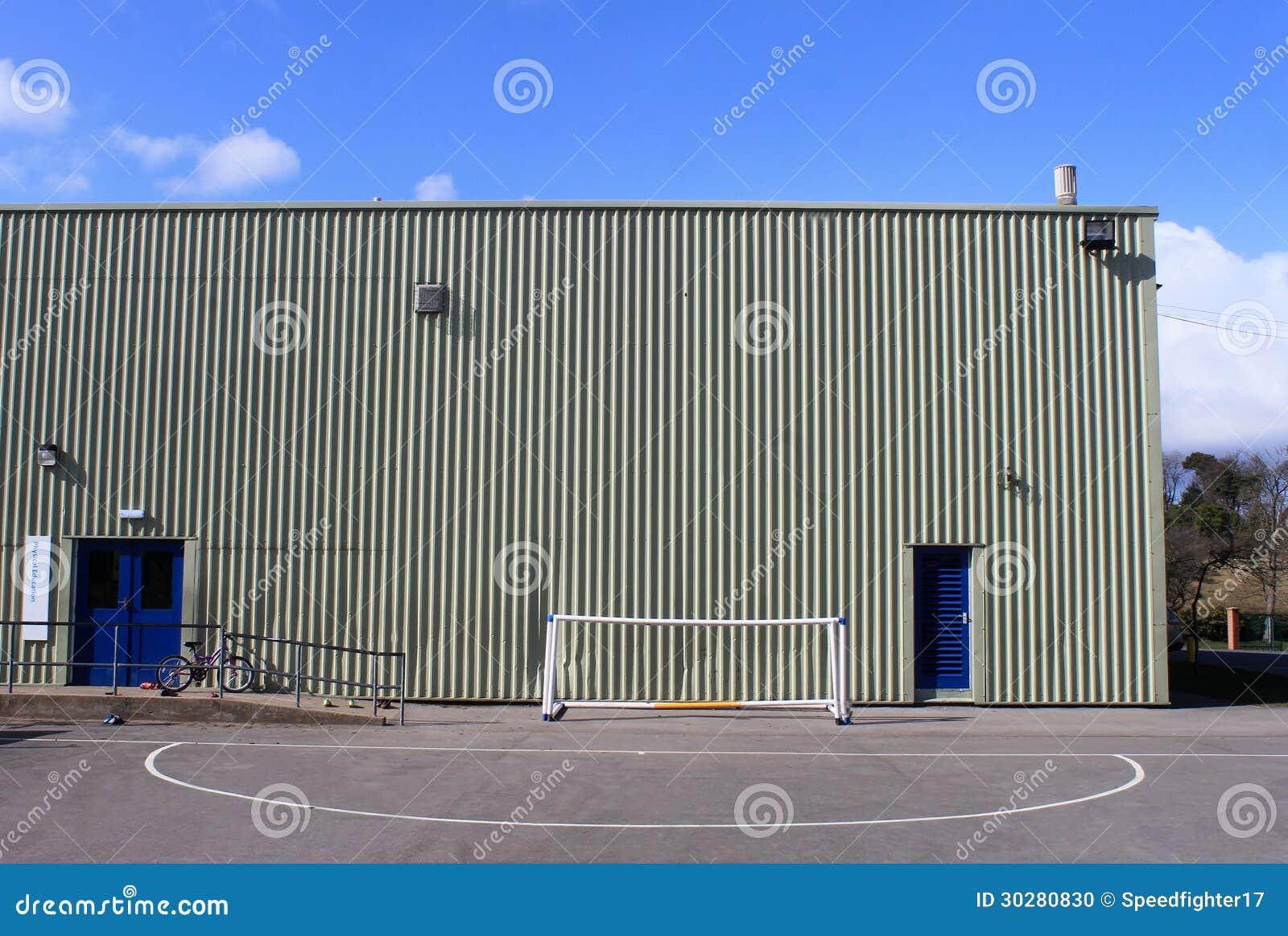 Salle De Gymnastique D Ecole Photo Stock Image Du Personne