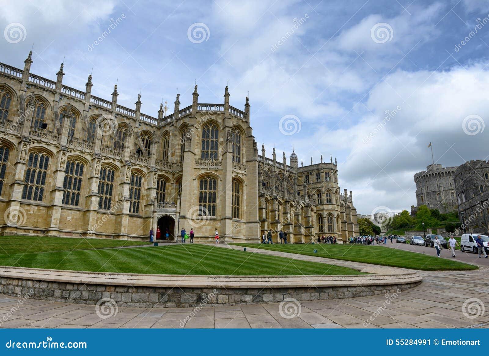 Extérieur de St Georges Chapel, Windsor Castle