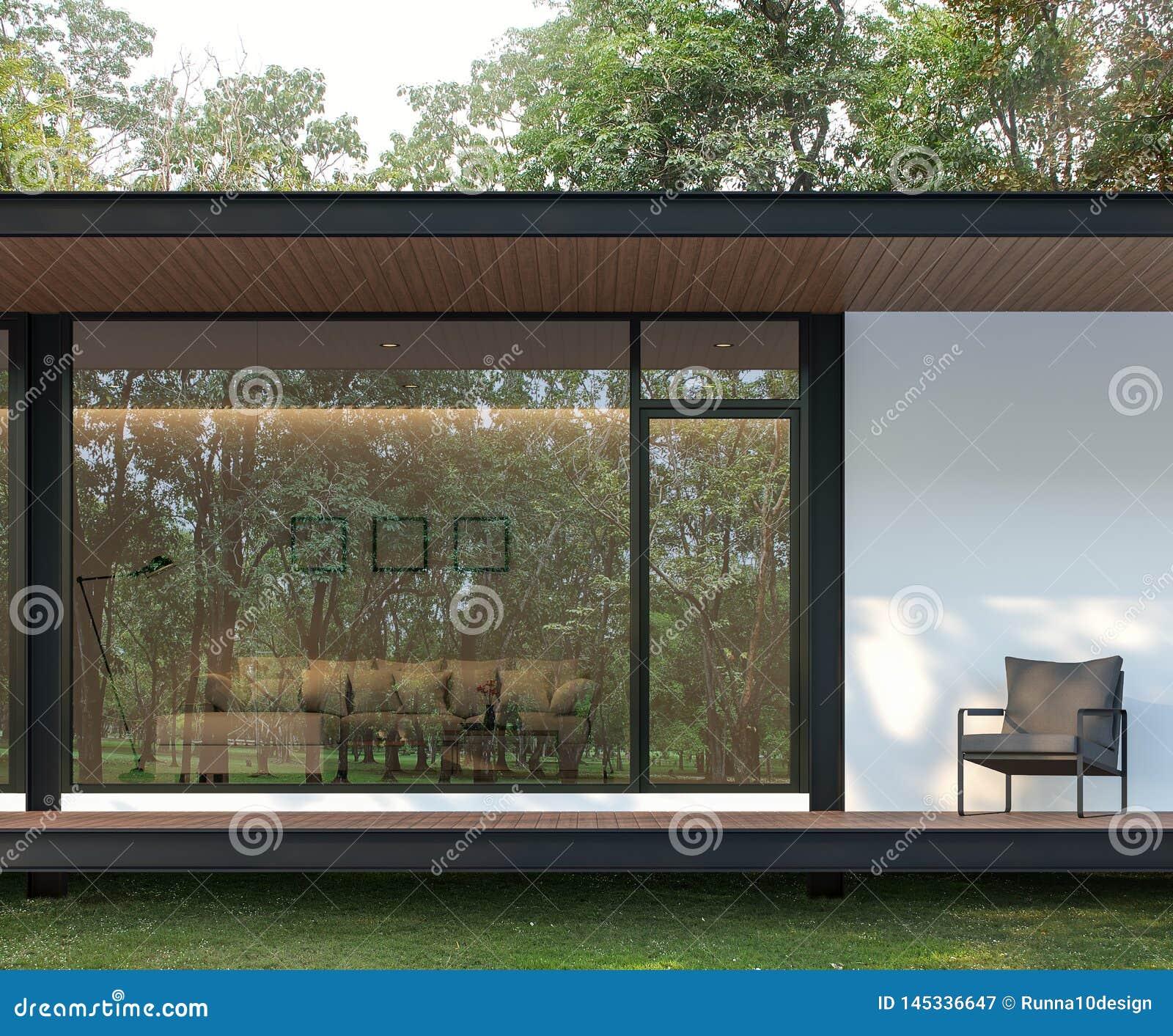 Architecte Jardin 3D Gratuit extérieur de terrasse moderne de maison dans le jardin 3d