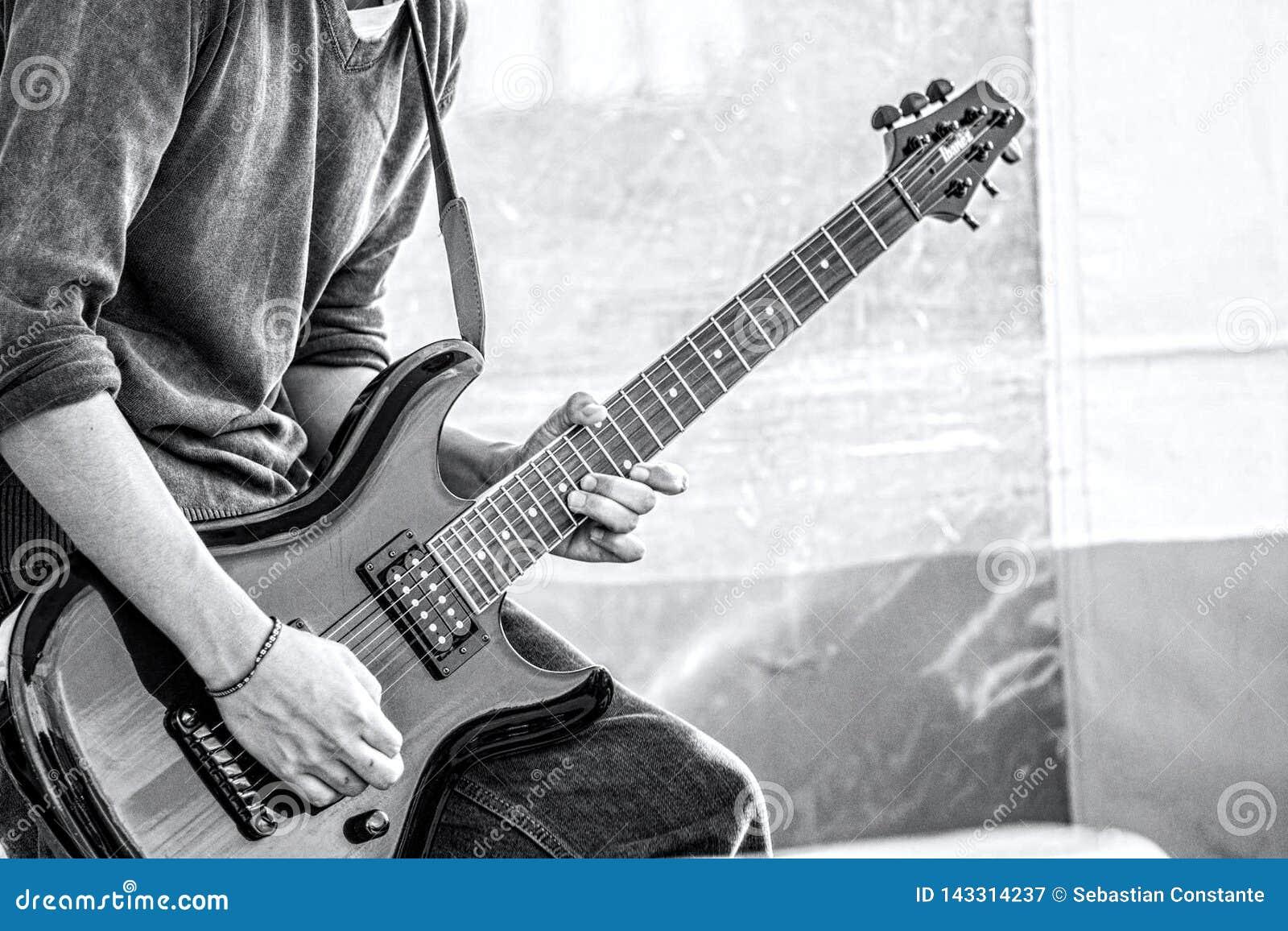 Extasen av en gitarr solo