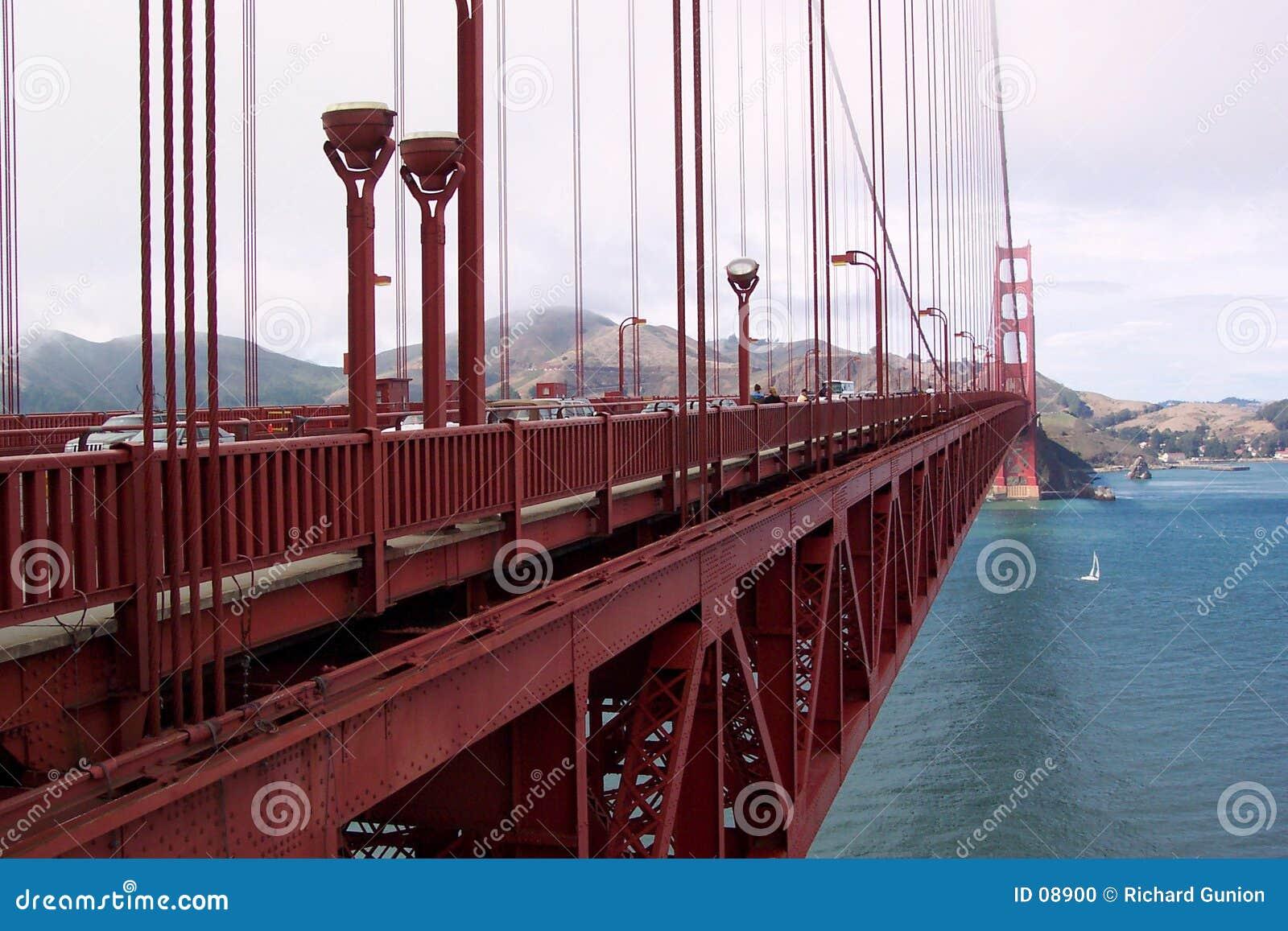 Extensão da ponte de porta dourada