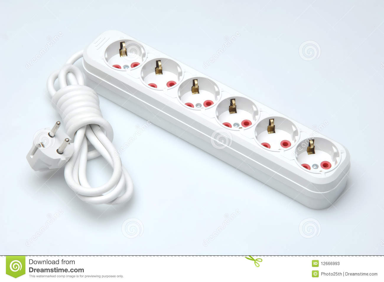 KOPPLA Extension cord White 13 AMP - IKEA