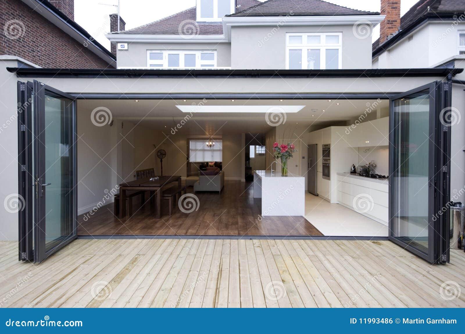 Extension Chambre extension de cuisine de chambre photo stock - image du patio, home