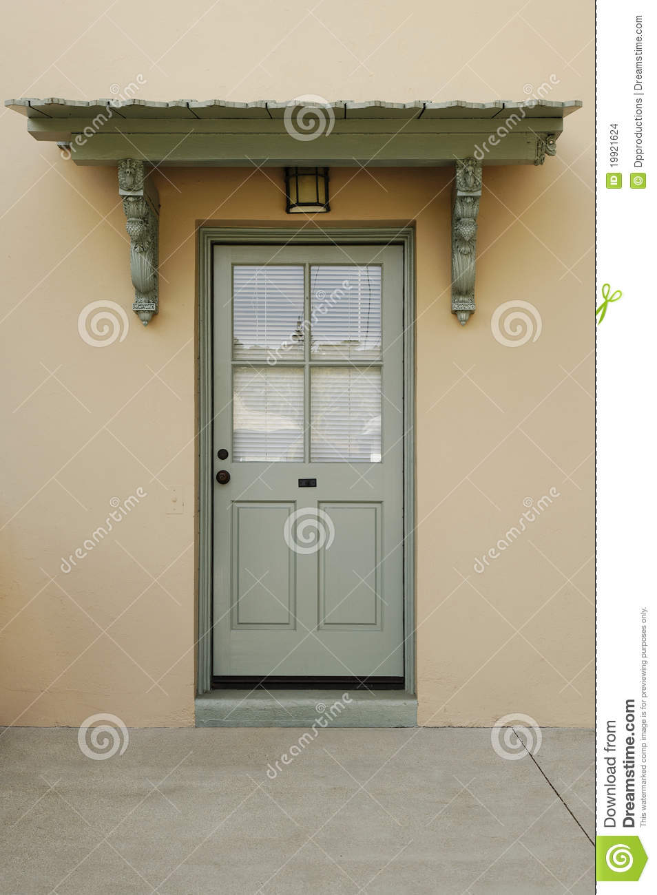 royalty free stock photo download exterior of a back door - Exterior Back Doors