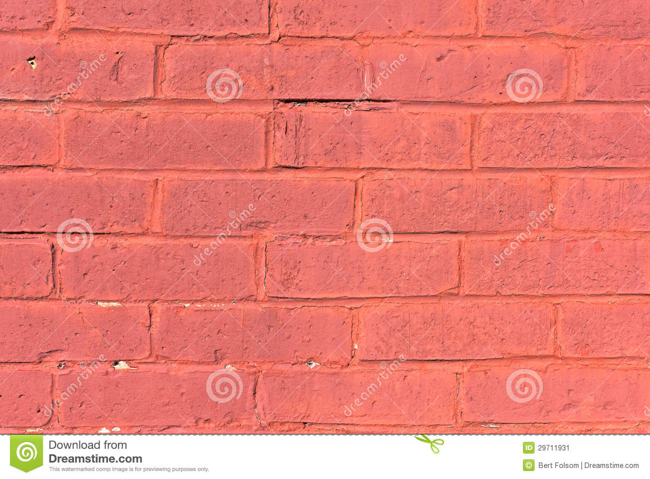 Old painted brick wall stock image image 29711931 - Exterior paint peeling concept ...