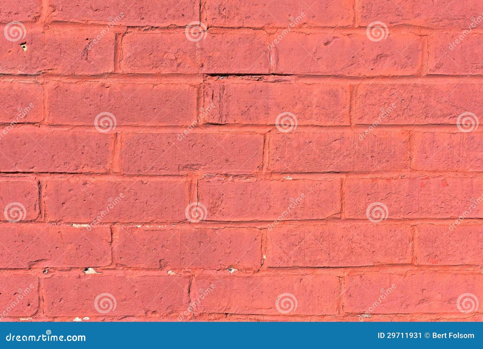 Old painted brick wall stock image image 29711931 - Painting exterior brick walls ...