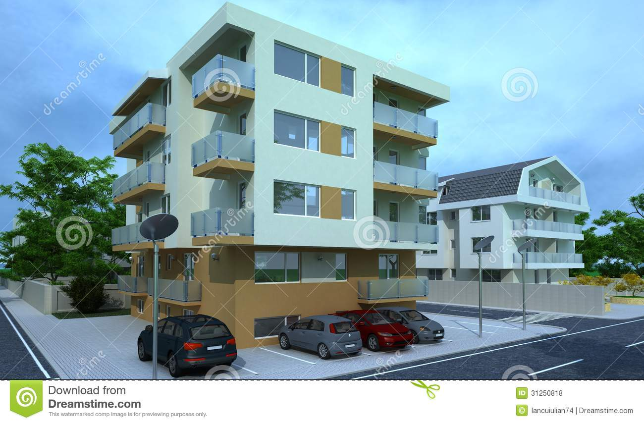 Exterior building design rendering architecture royalty for Yoshinobu ashihara exterior design architecture