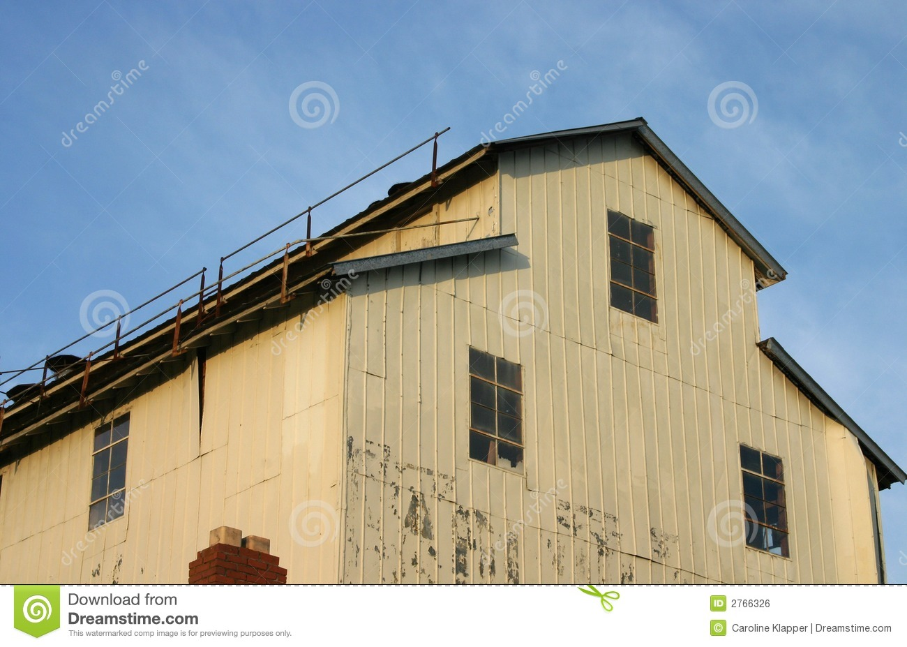 Exterior of factory building royalty free stock image for Factory exterior design