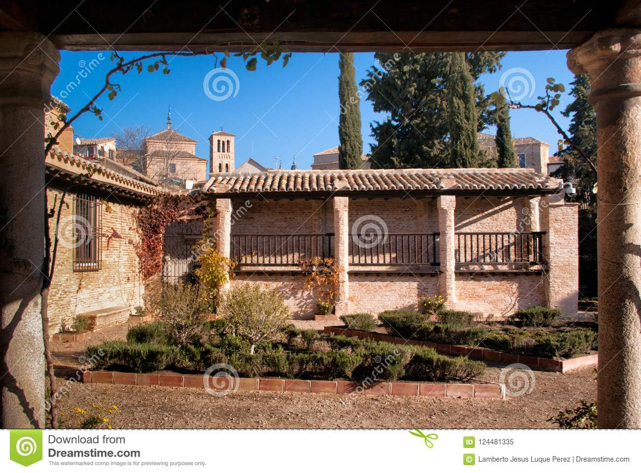 Exterior And Garden Of The House Of The Renaissance Painter El Greco ...