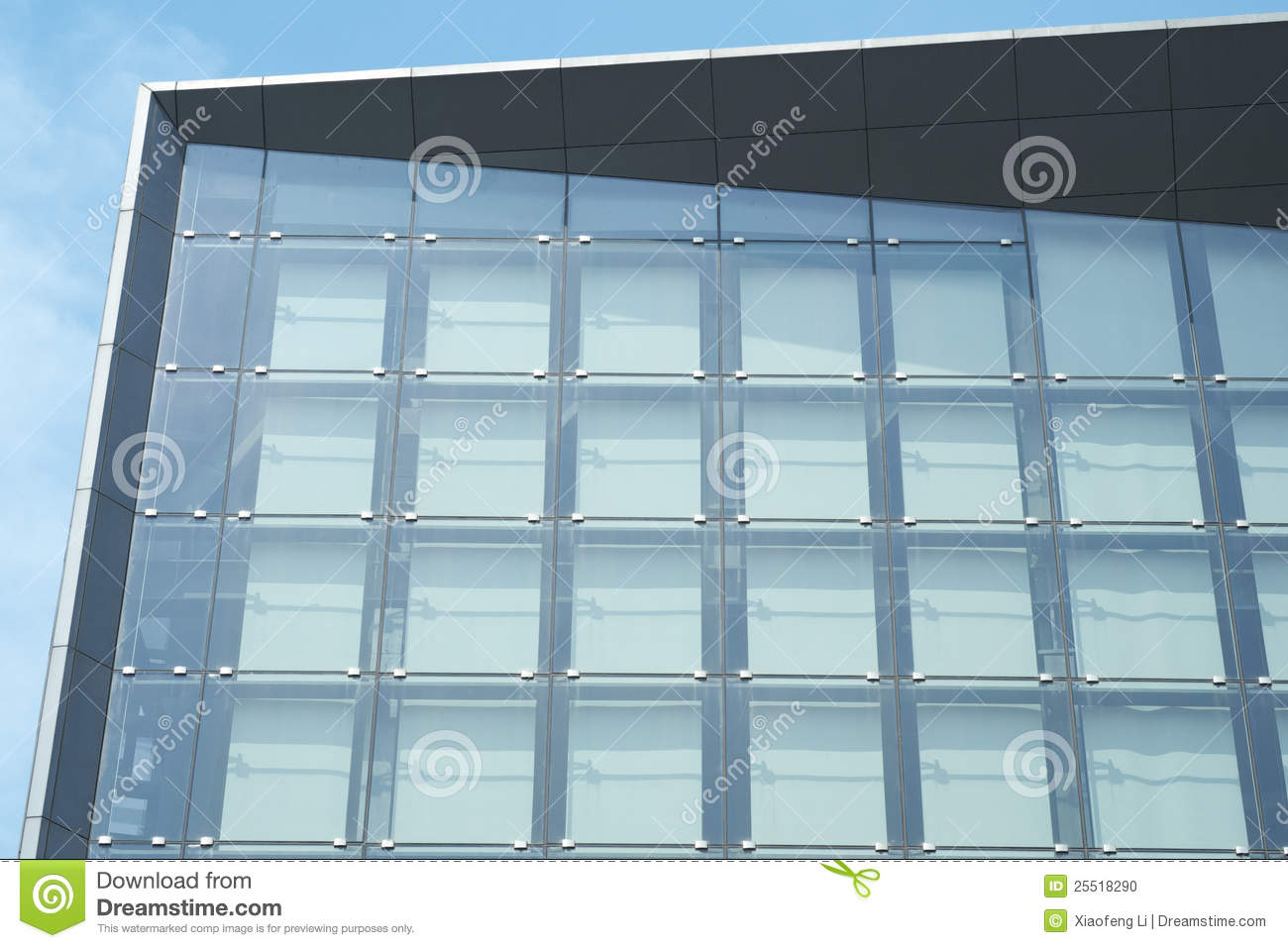 Exterior Glass Walls In Sun Stock Photo Image 25518290