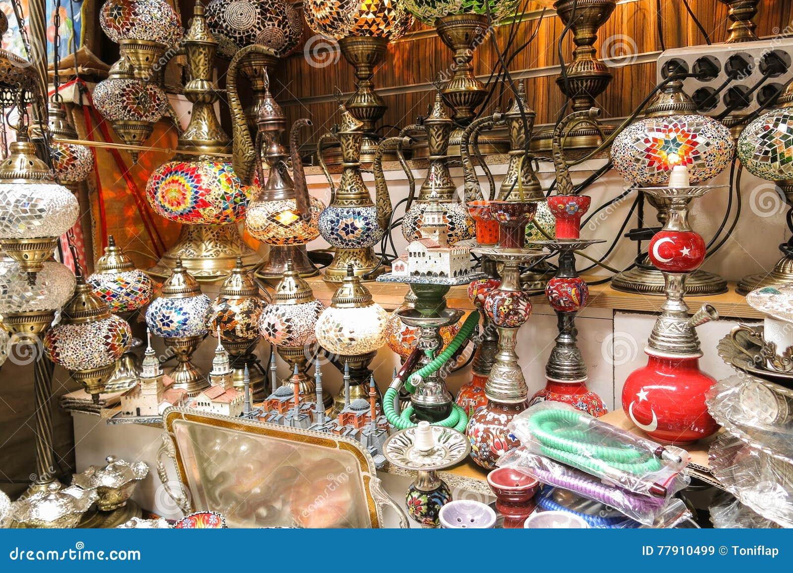 Exterior Grand Bazaar In Istanbul Stock Image Image Of Lamp Shop