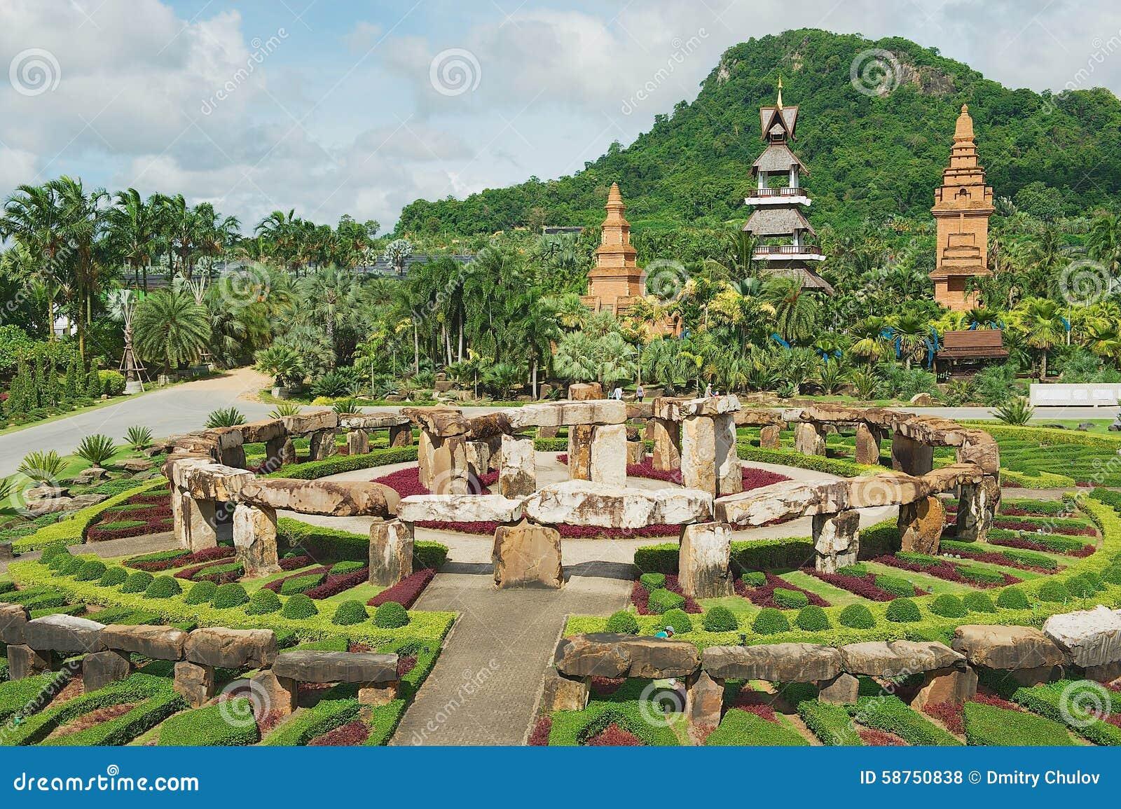 Exterior Of The Nong Nooch Tropical Botanical Garden In ...