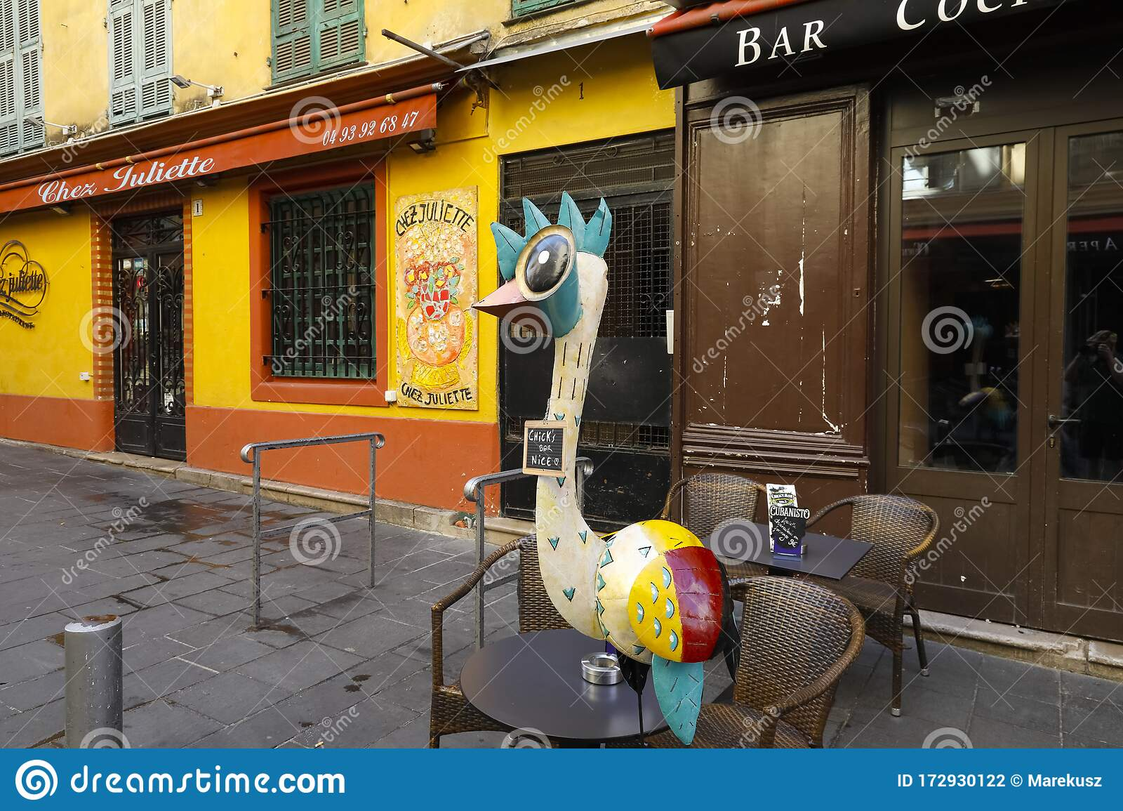 Exterior Of One Restaurant And One Bar Editorial Photography Image Of Mascot Detail 172930122