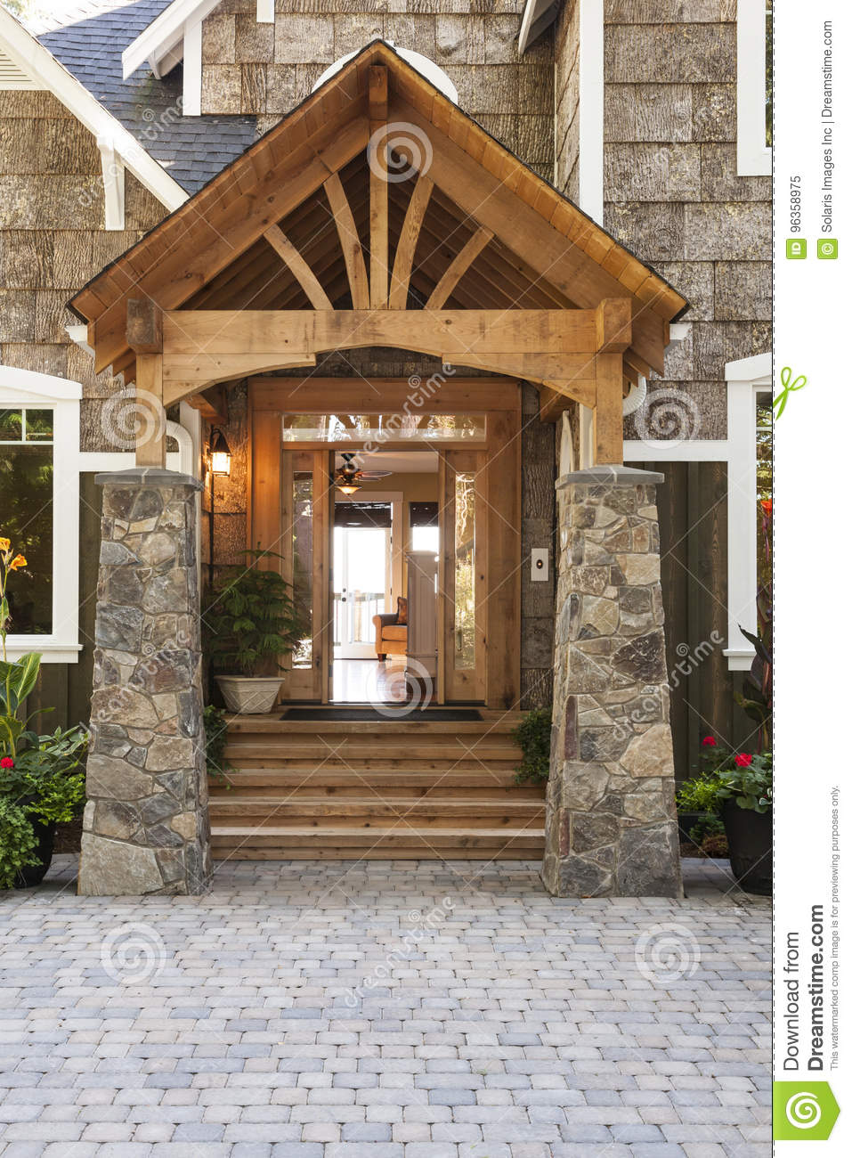 Exterior Porch And Front Door Entrance To Beautiful, Upscale Country on front entrance way designs, stone garage designs, stone bedroom designs, stone deck designs, front door entrance designs, stone yard designs, deck entrance designs, stone interior designs, stone wall designs, rock entrance designs, stone pond designs, stone garden designs, front step designs, driveway entrance designs, neighborhood entrance designs, front entry designs, brick entrance designs, entrance landscape designs, stone patio designs, subdivision entrance designs,