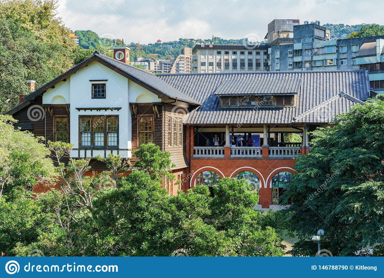 Exterior view of the  Beitou Hot Spring Museum