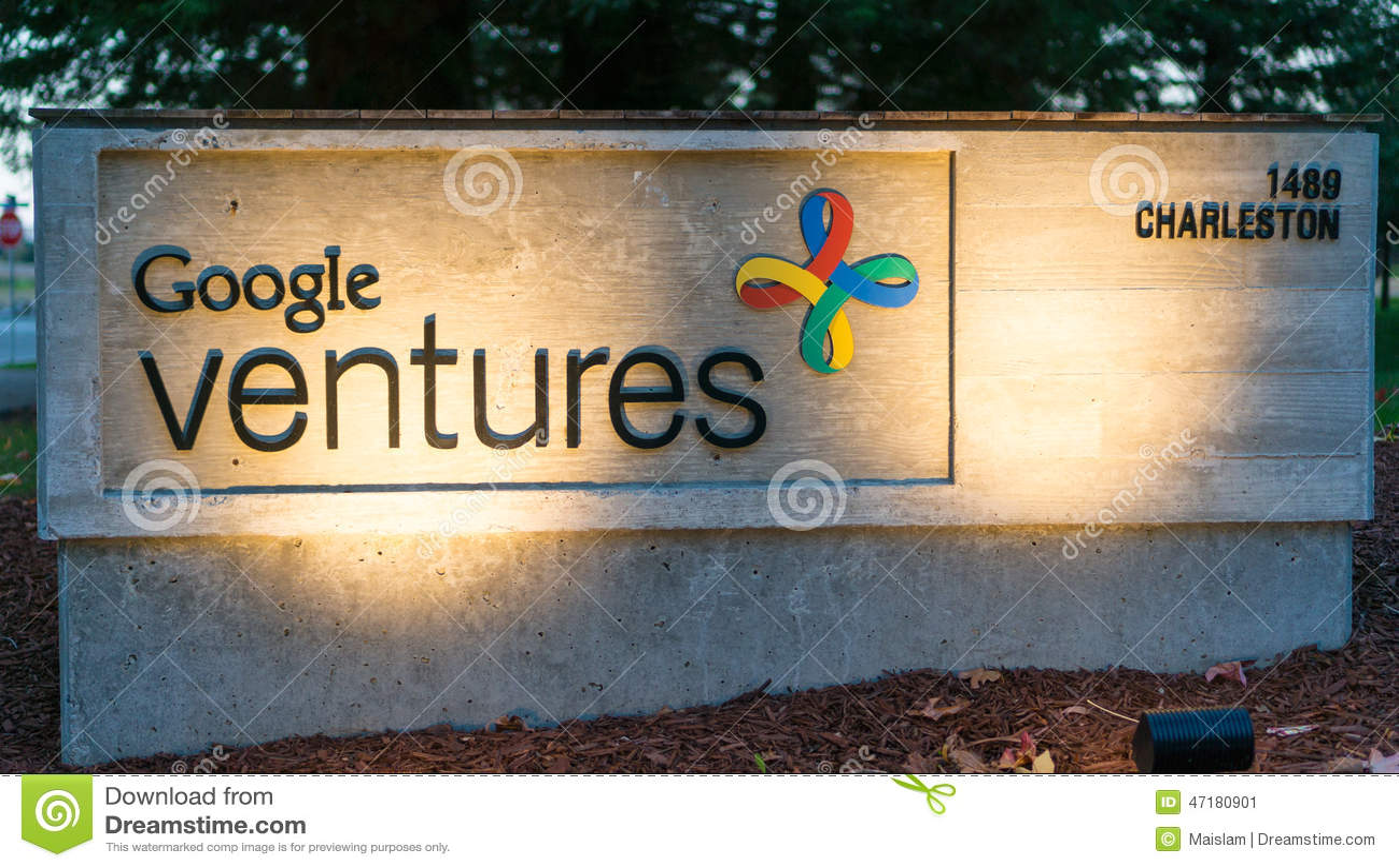 Google ventures theme - Exterior View Of Google Ventures Office Stock Image