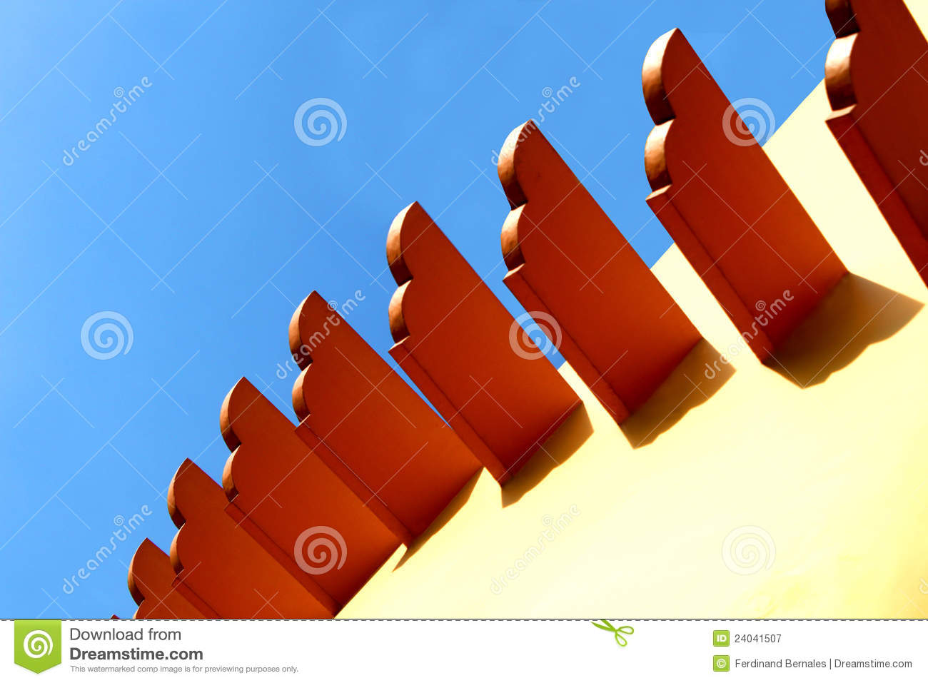 Exterior wall decor stock image image of house for Time saver details for exterior wall design