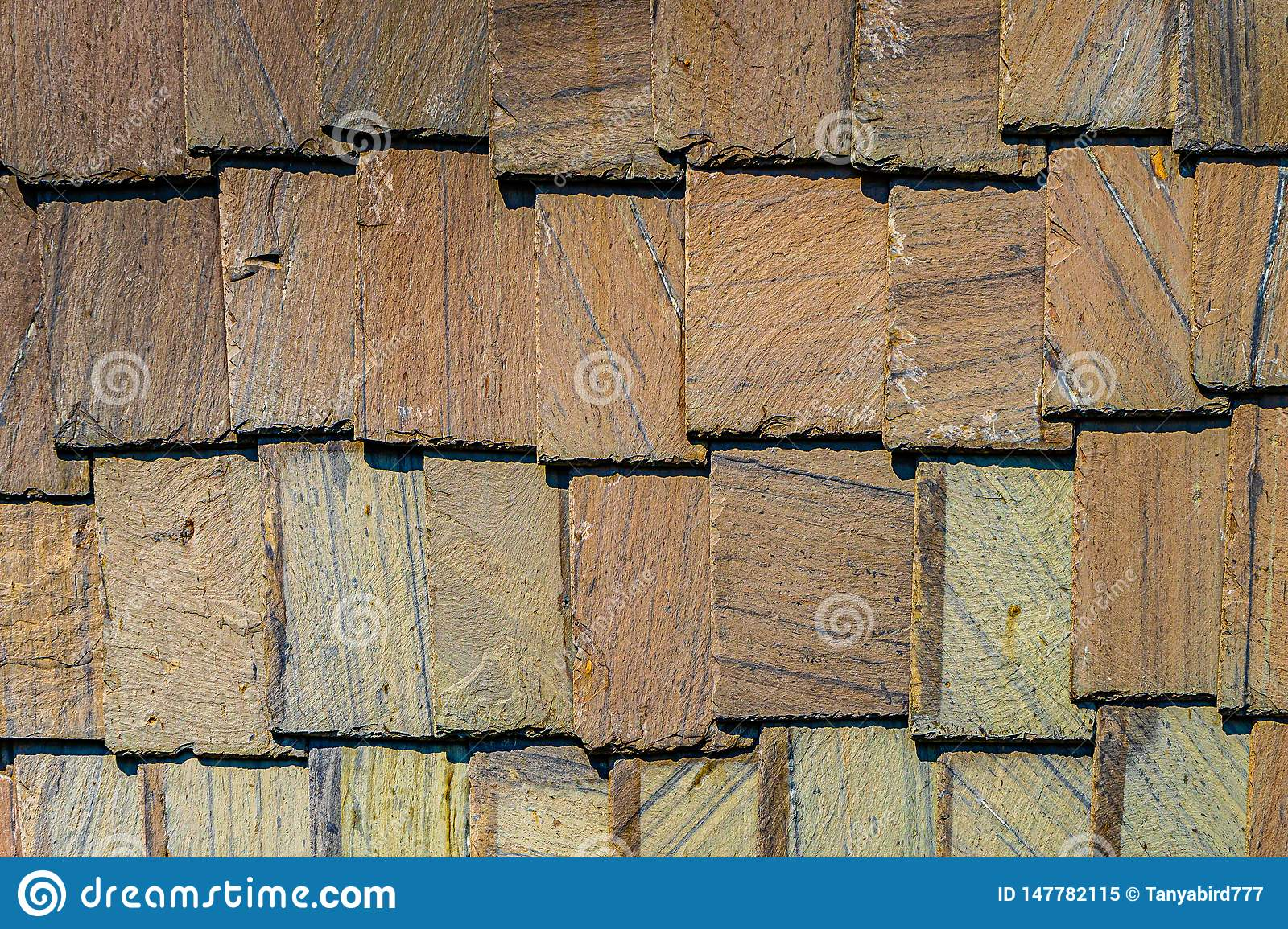 Exterior Wall Stone Plates Siding Background Textures Stock