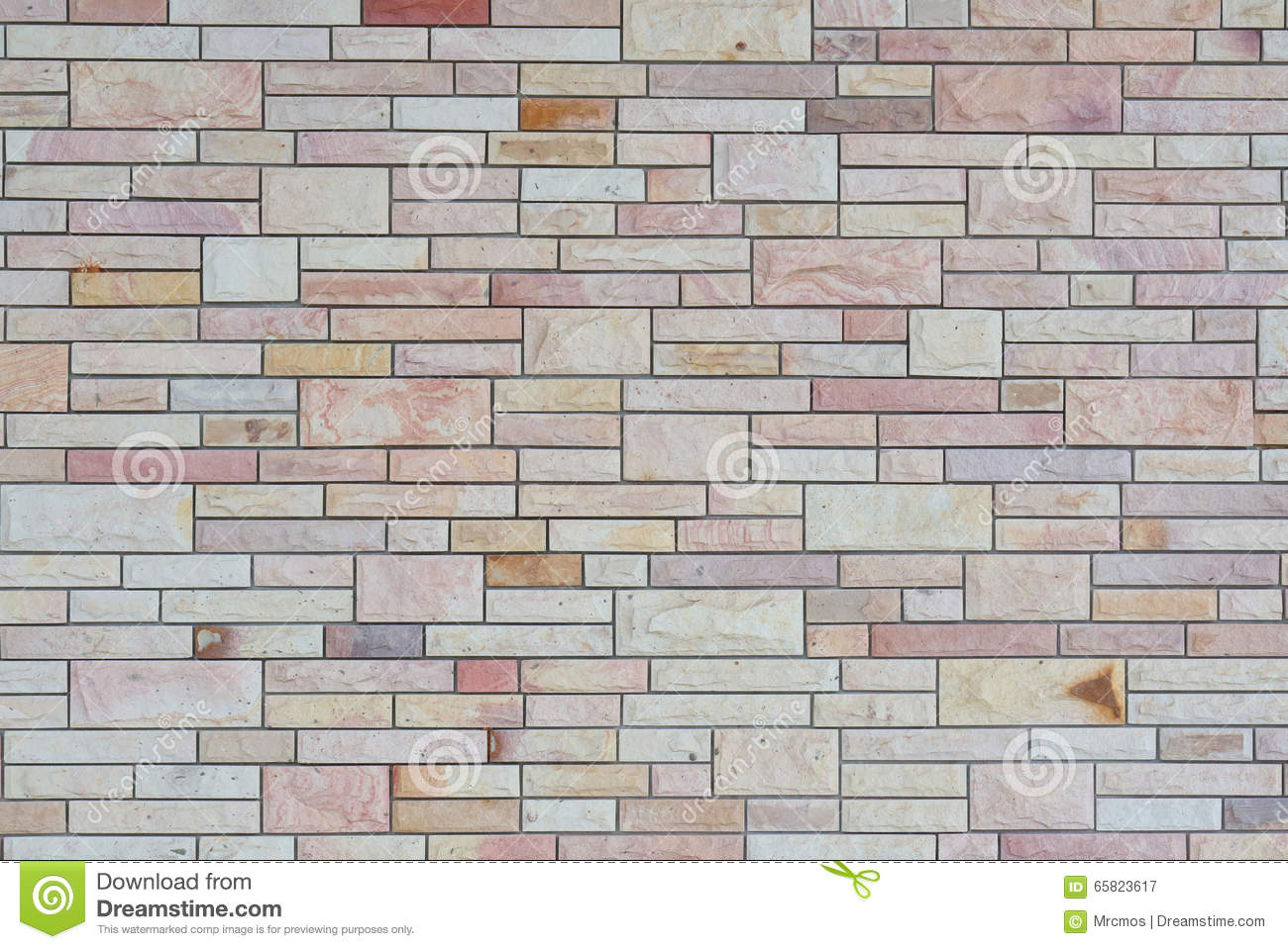 Exterior white and brown brick wall textured wall for Exterior background