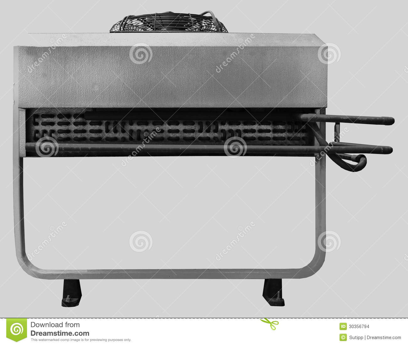 External Air Conditioner Unit For Industrial Background Stock Images  #86A823