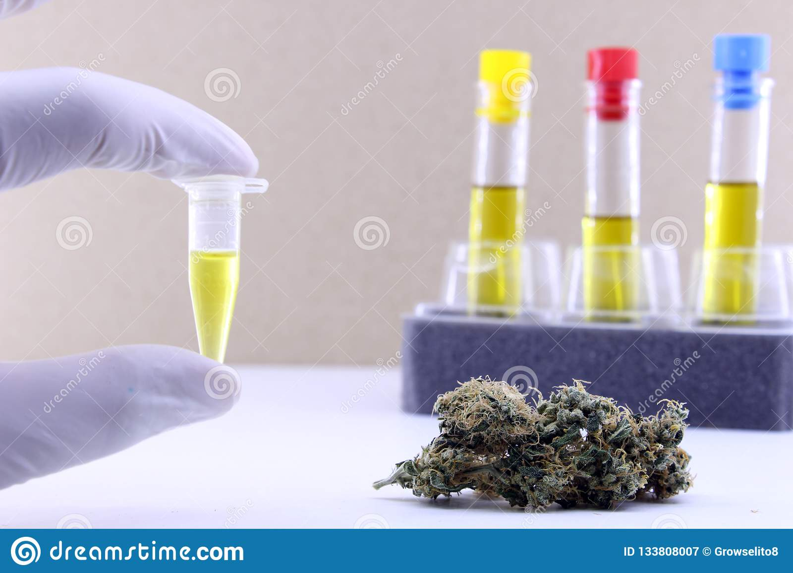 Extractie van cannabisolie