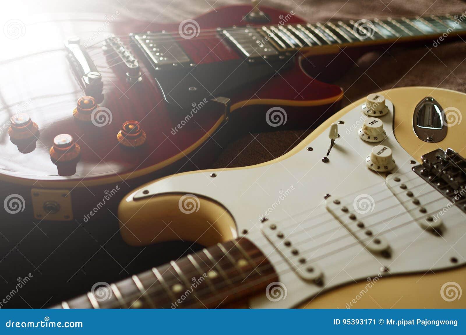Extracto de la macro de la guitarra eléctrica
