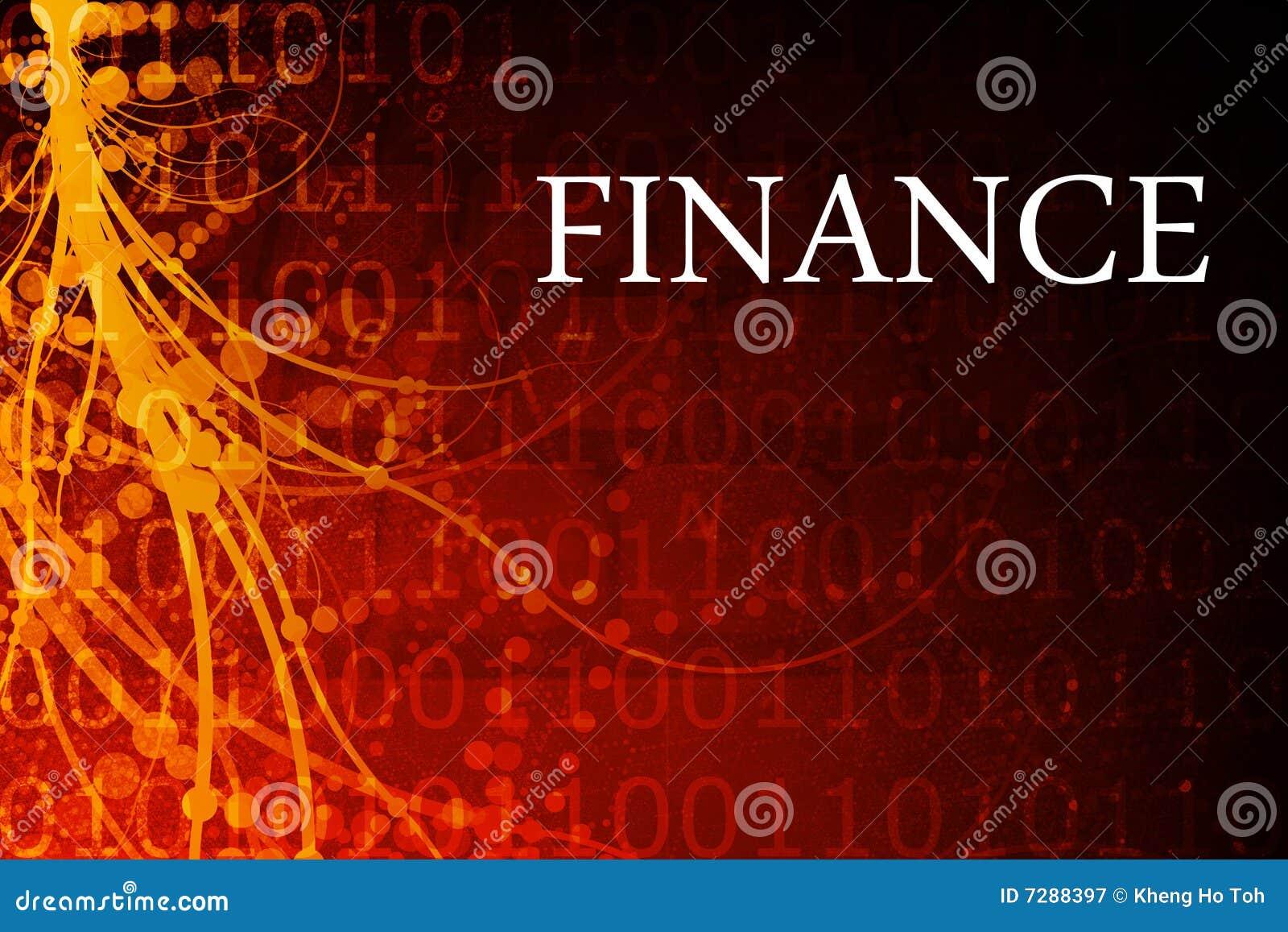 Extracto de las finanzas