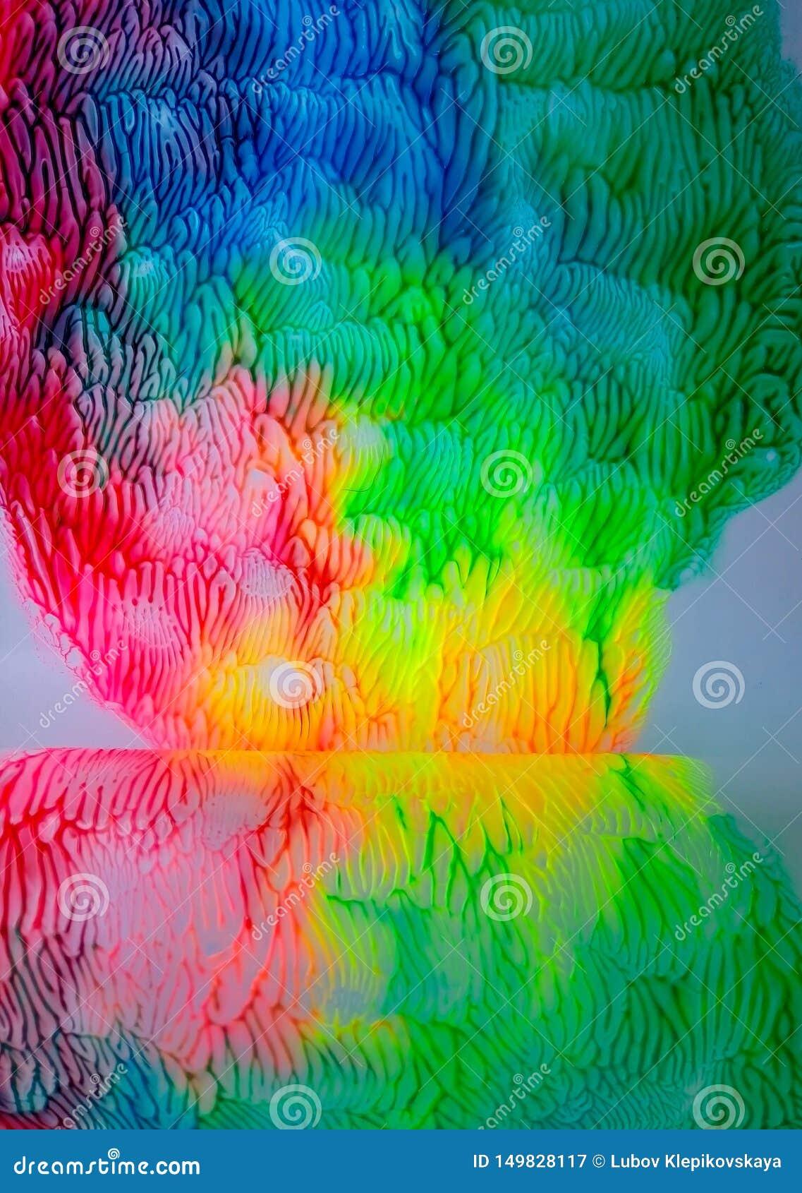 Extracto del ejemplo de la acuarela de la pintura de la acuarela