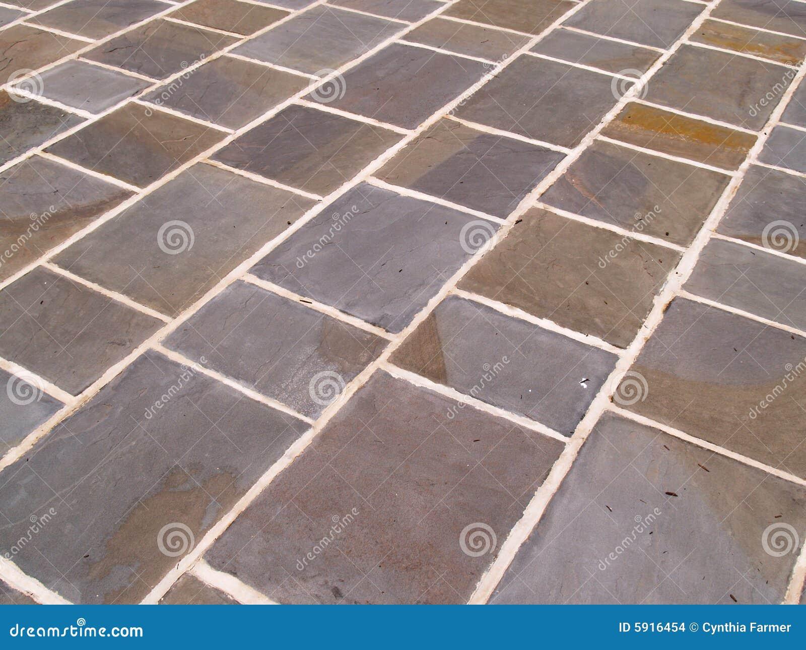 Extracto del suelo de azulejo de la pizarra imagenes de - Azulejos de suelo ...