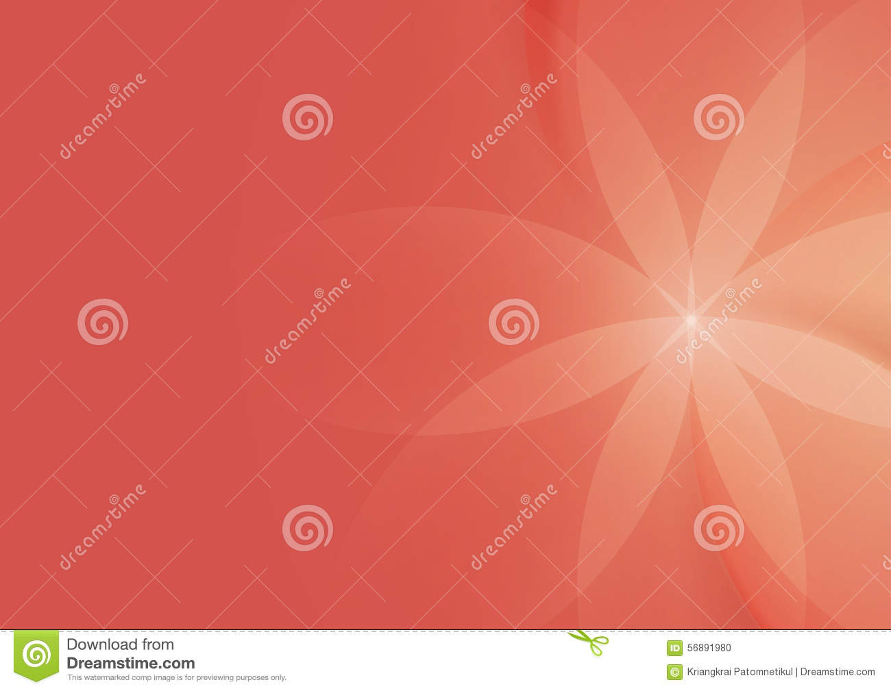 Extracto floral en Salmon Pink Background