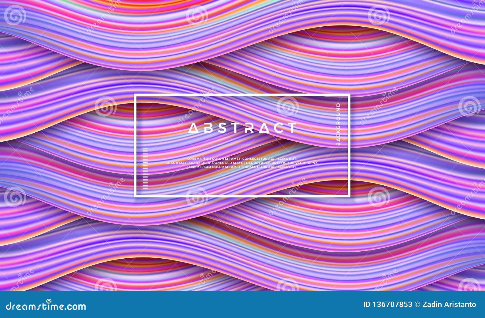 Extracto, fondo colorido dinámico y texturizado, moderno del flujo para su elemento del diseño y otros