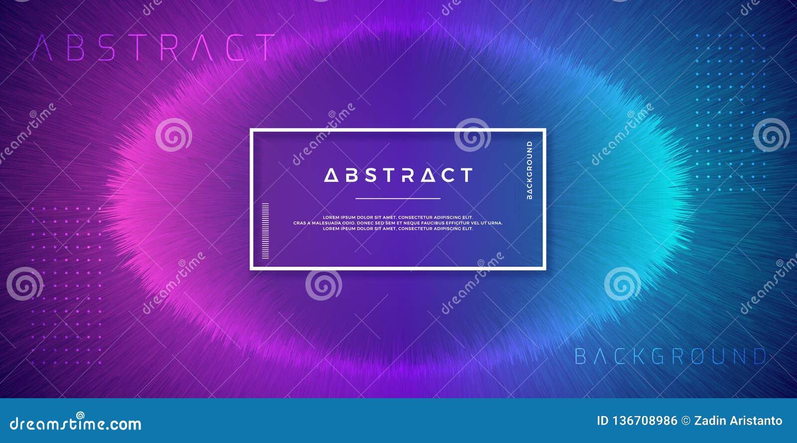 Extracto, fondos dinámicos, modernos para sus elementos del diseño y otros, con color púrpura y azul claro de la pendiente