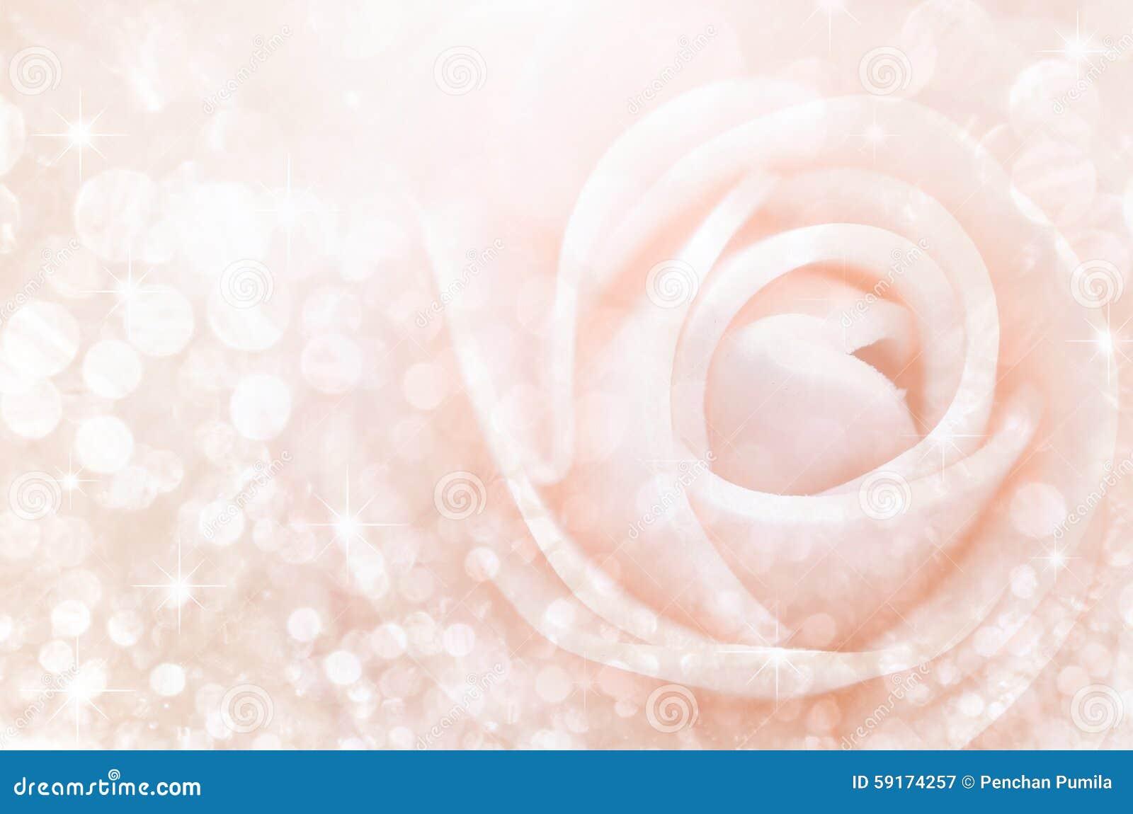 Extracto Las rosas dulces del color en bokeh texturizan la falta de definición suave