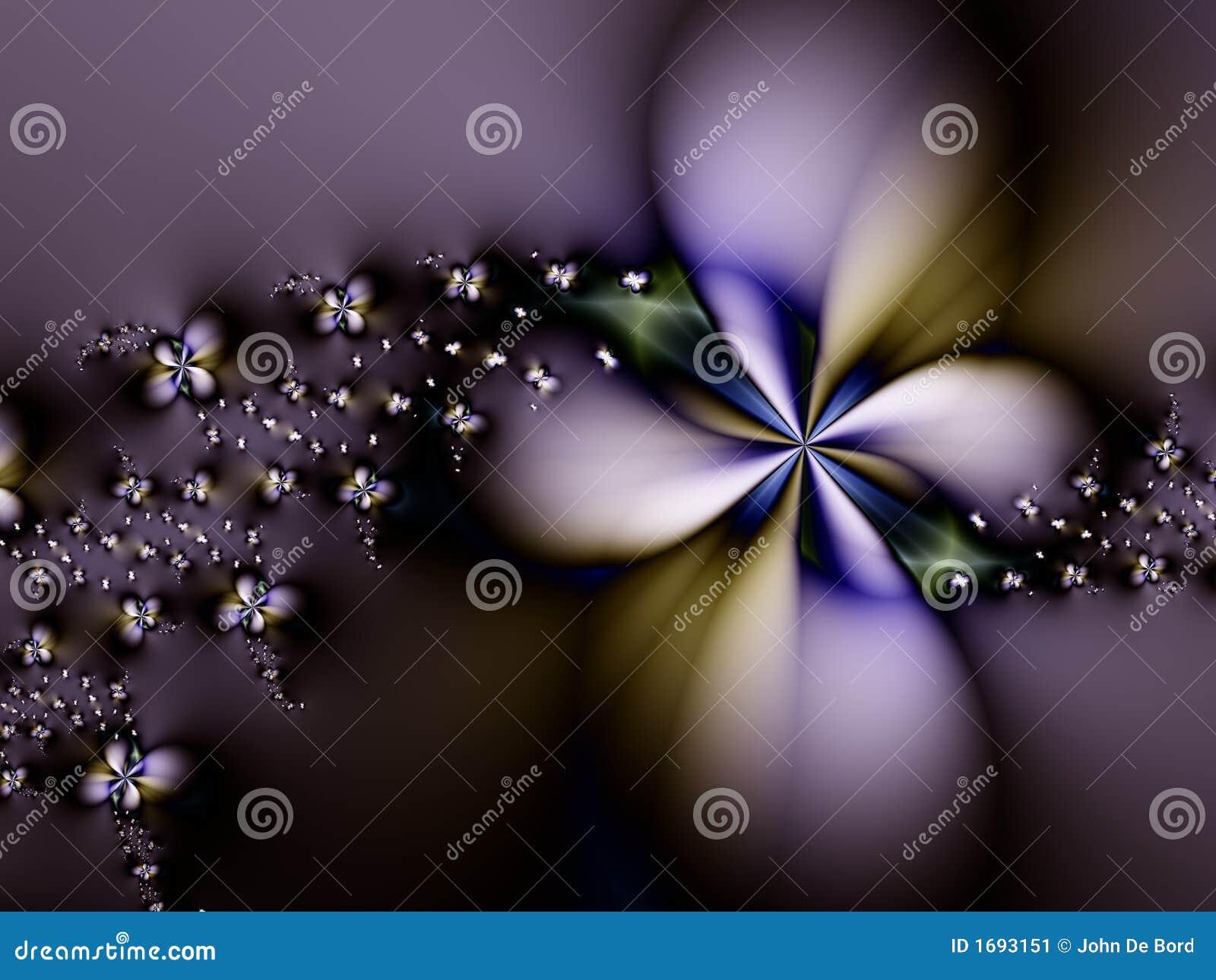 Extracto púrpura de la flor