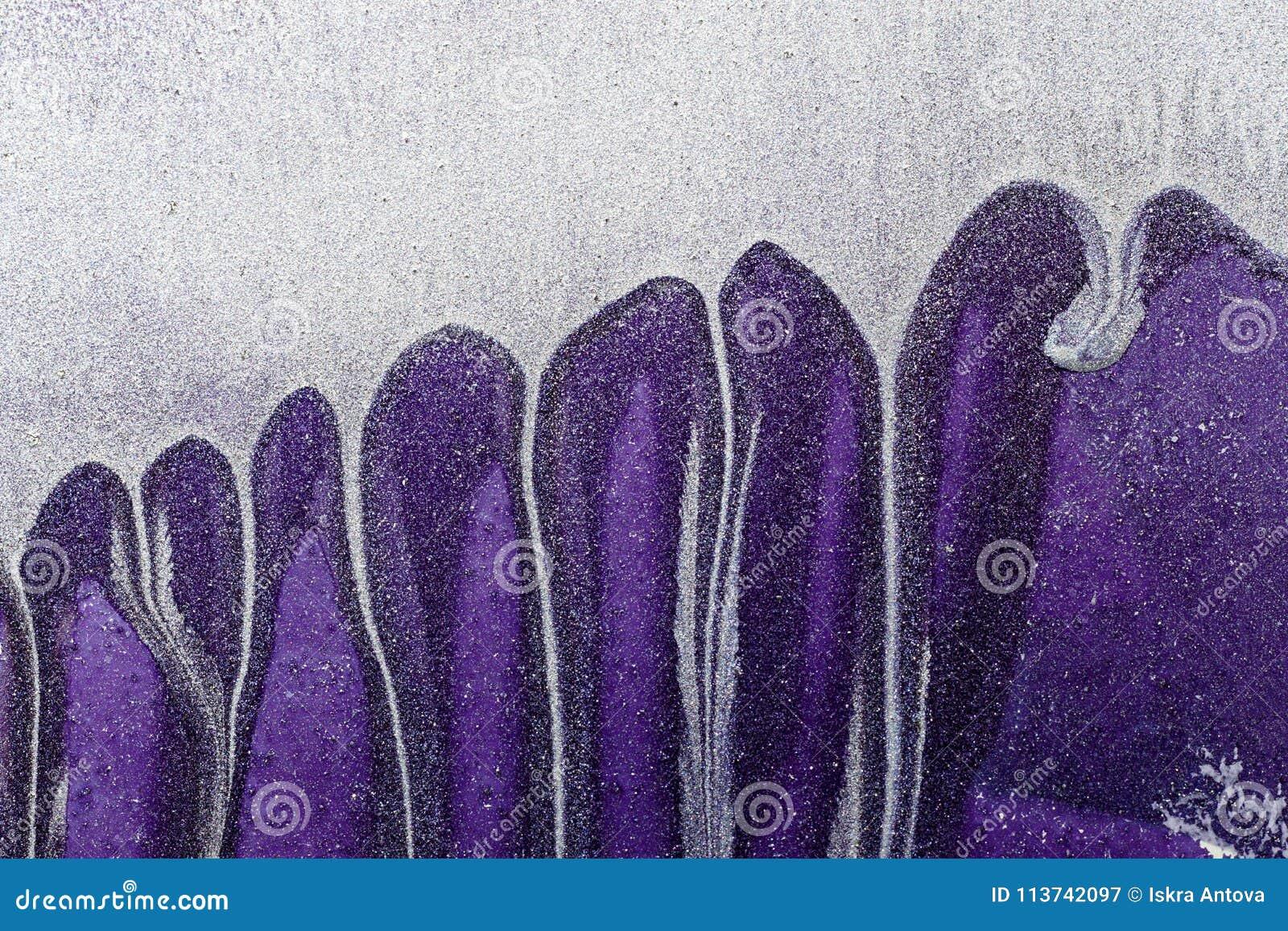 Extracto ultra Violet Background Superficie de metal