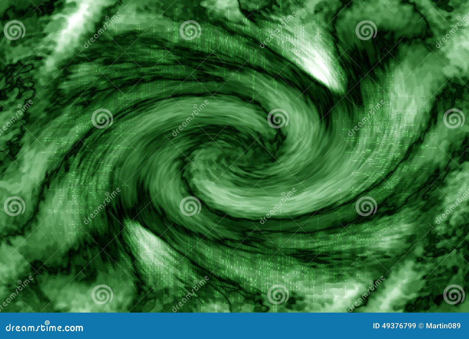 Extracto verde del vórtice
