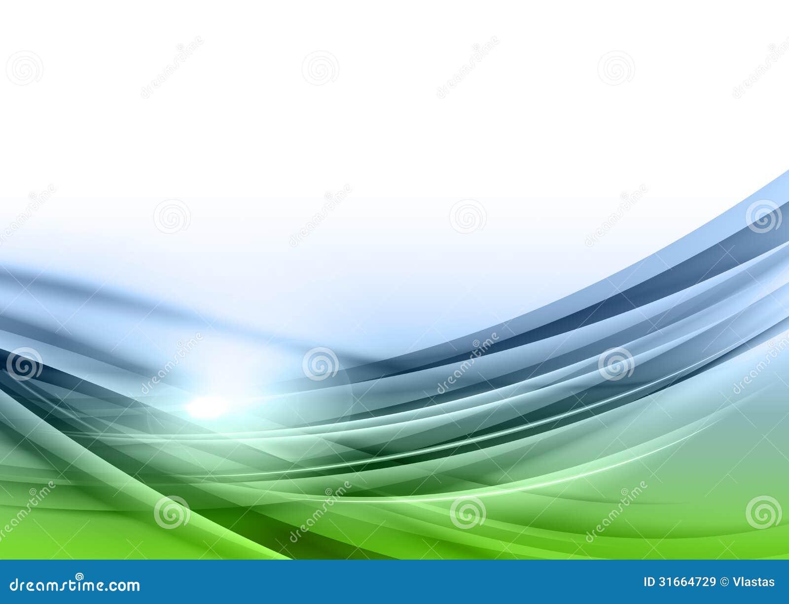 Extracto verde y azul